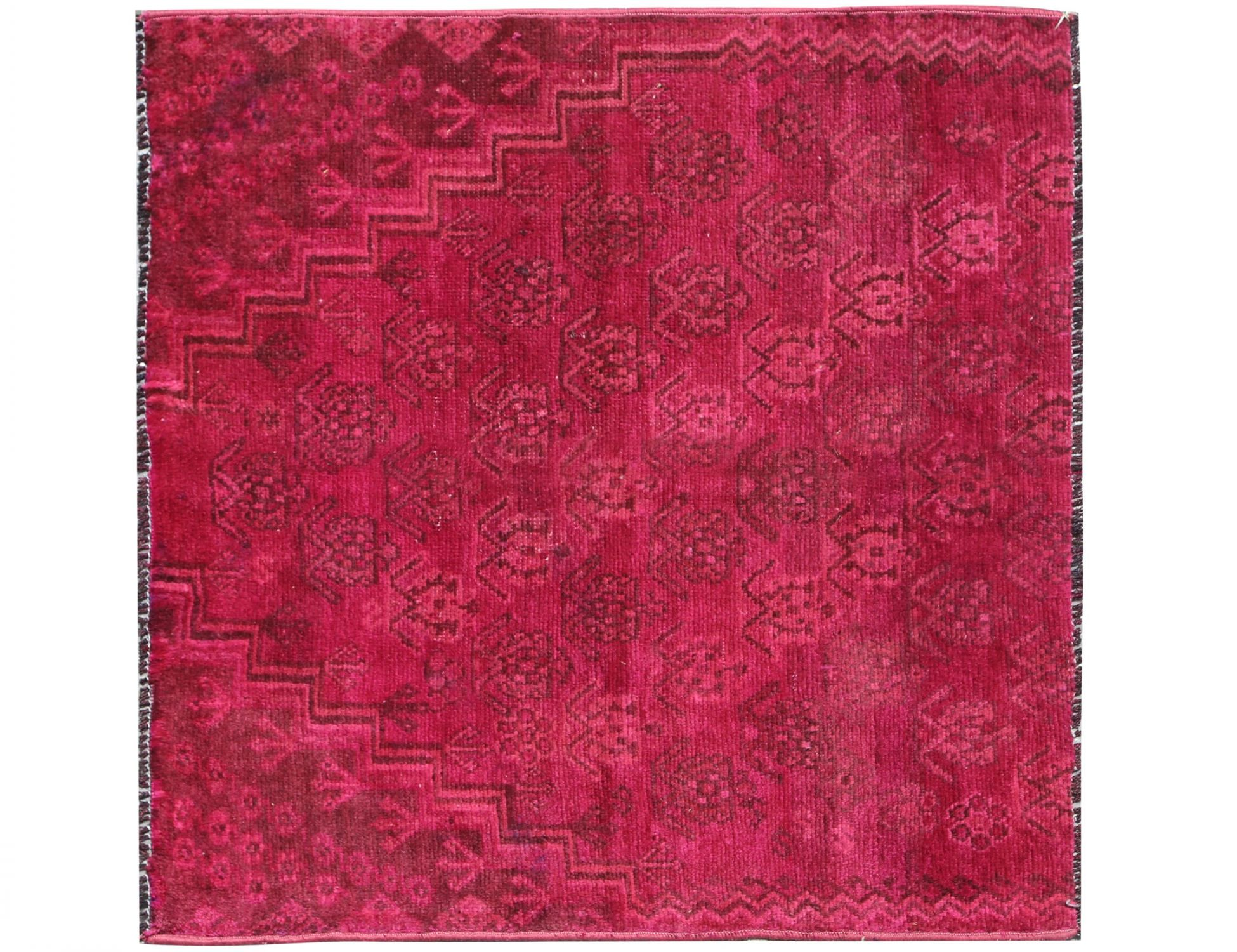 Tappeto Vintage  rosso <br/>115 x 110 cm