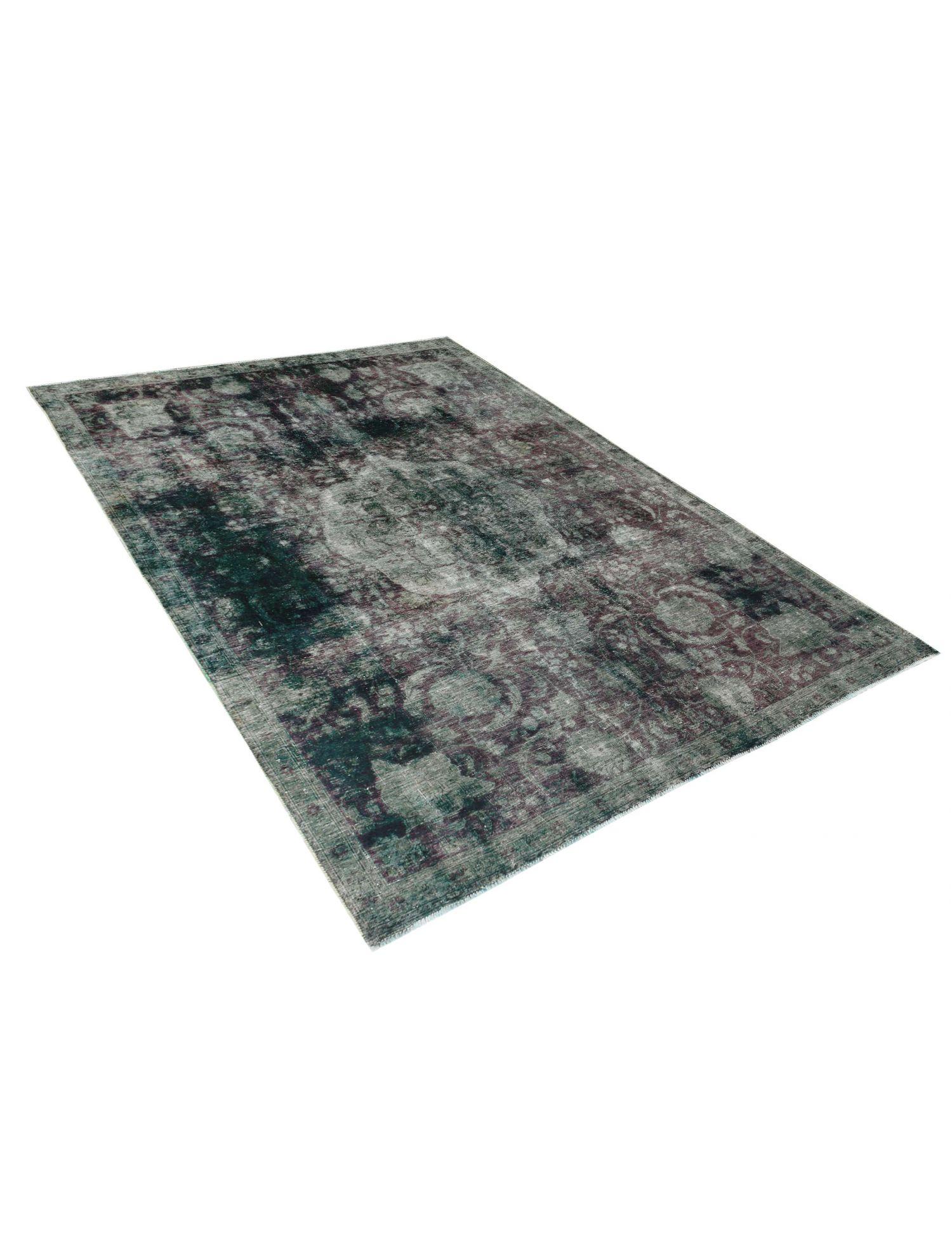 Vintage Teppich  grün <br/>296 x 223 cm