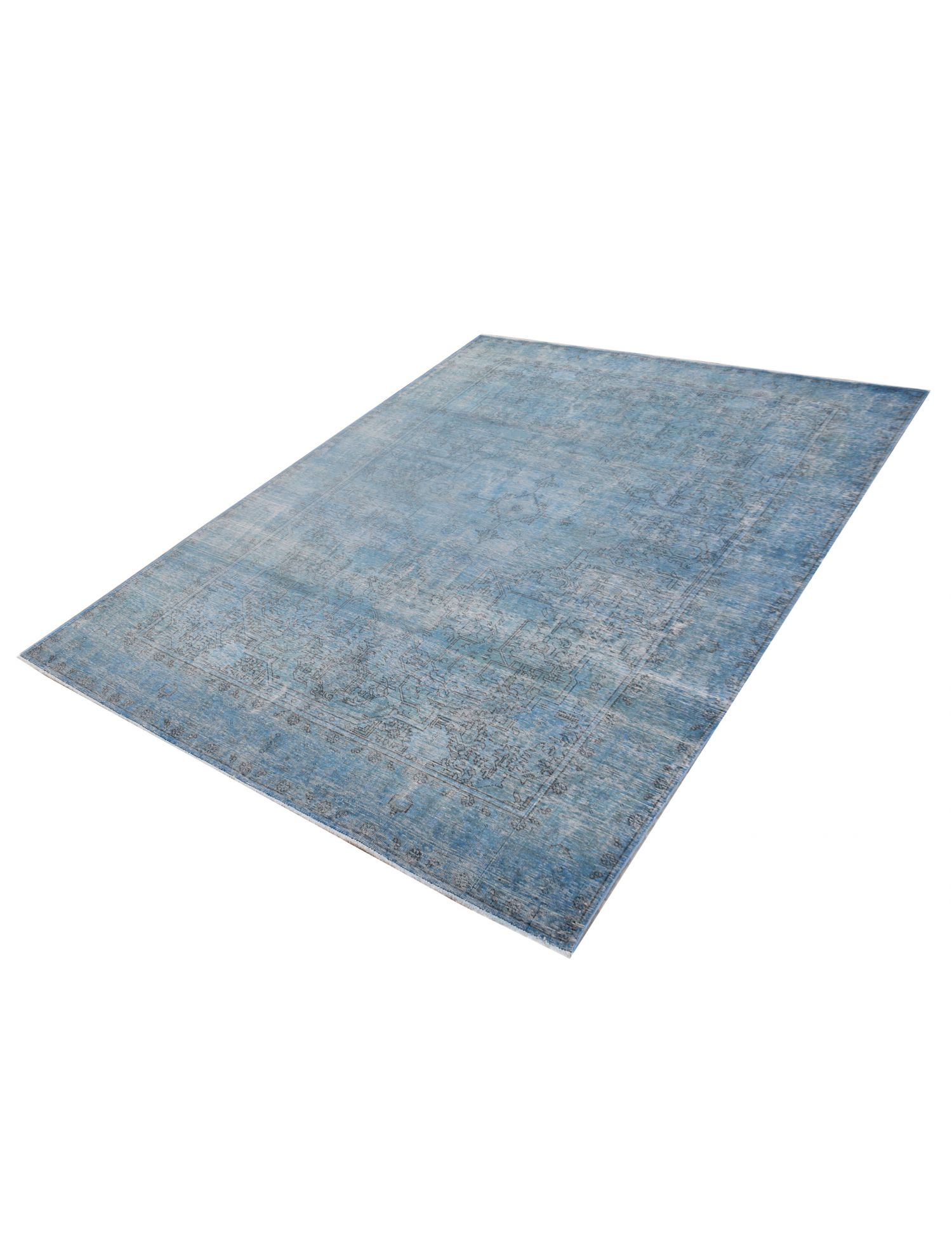 Tappeto Vintage  blu <br/>287 x 205 cm