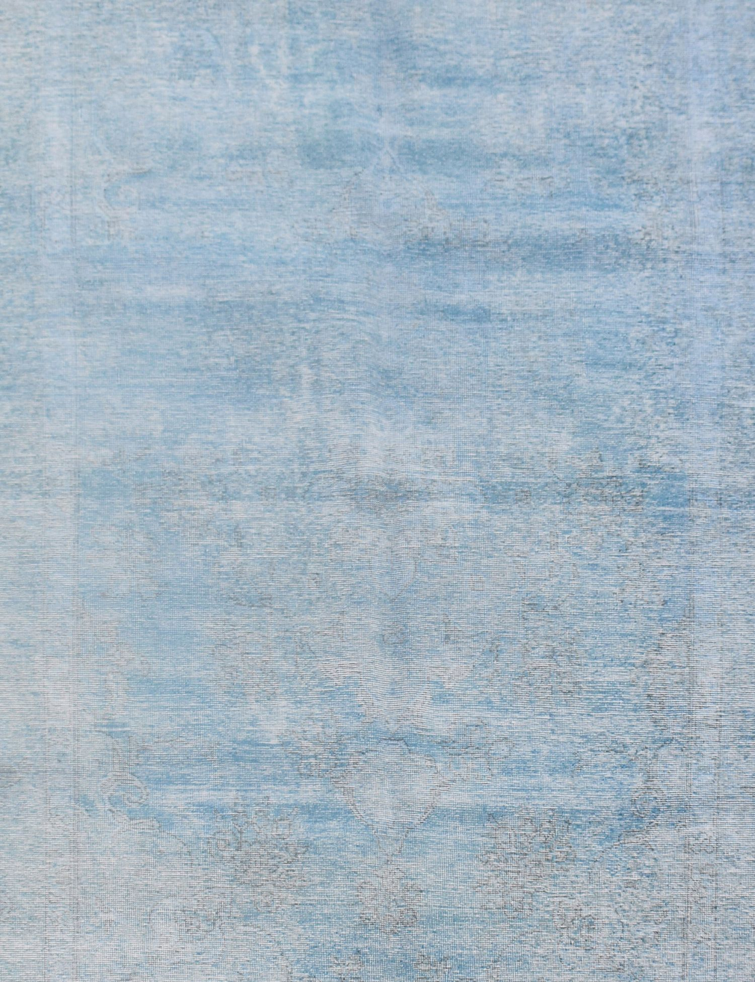Tappeto Vintage  blu <br/>297 x 197 cm