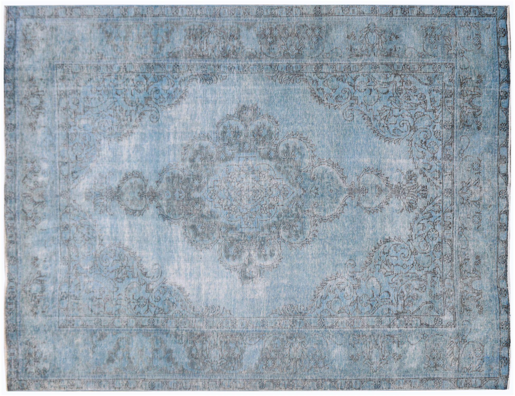 Tappeto Vintage  blu <br/>274 x 192 cm