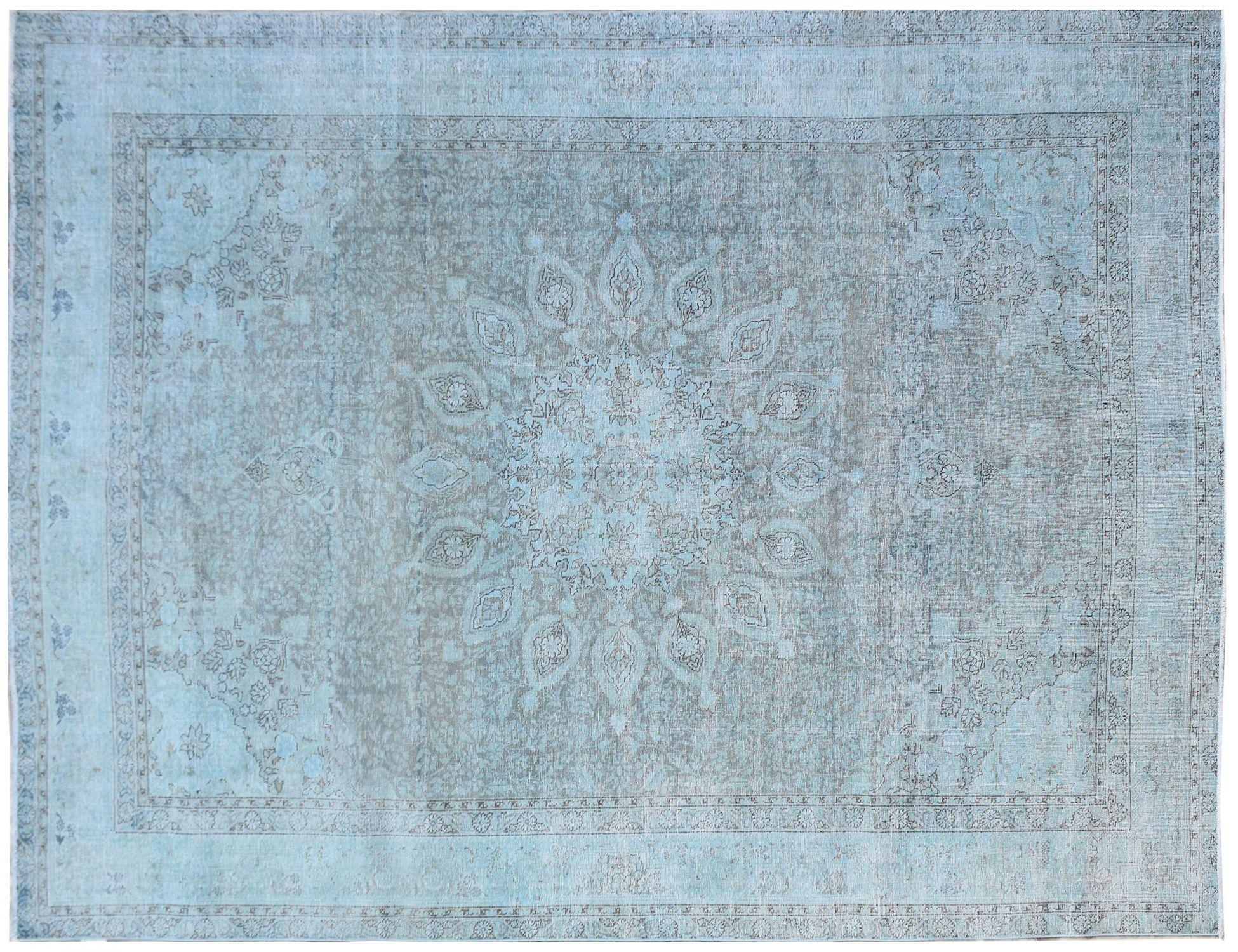 Vintage Teppich  blau <br/>345 x 243 cm