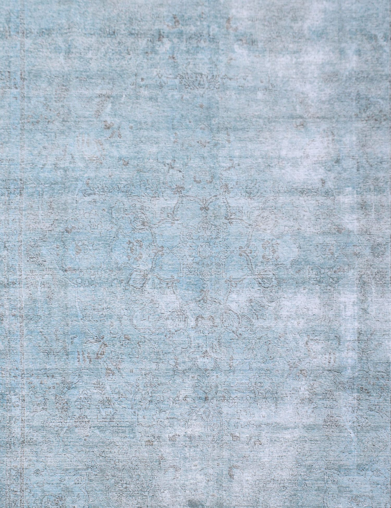 Tappeto Vintage  blu <br/>397 x 293 cm