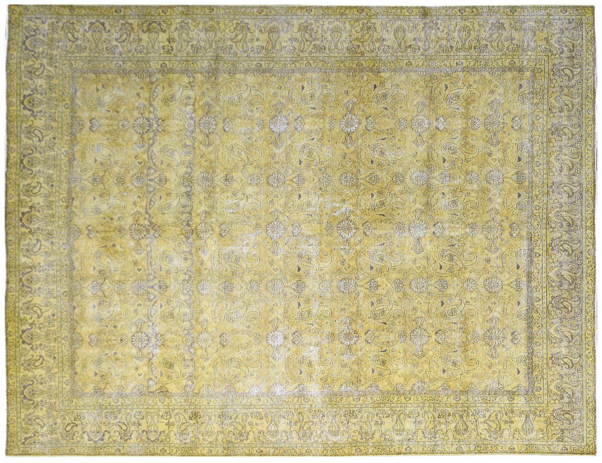Vintage Matta  keltainen <br/>387 x 284 cm