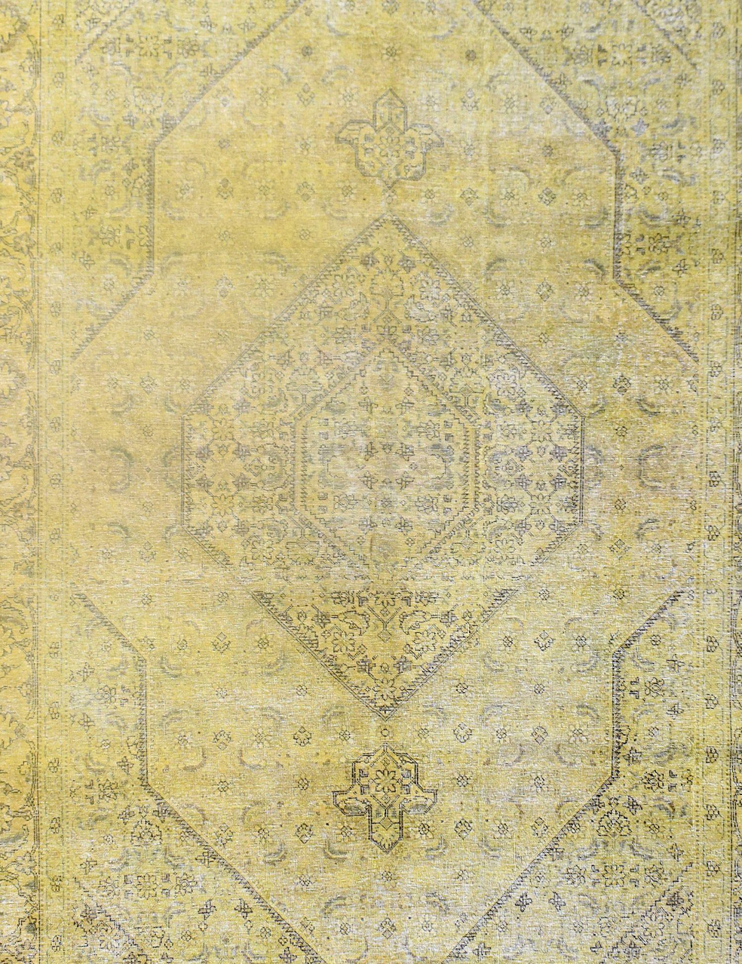 Tappeto Vintage  giallo <br/>316 x 223 cm