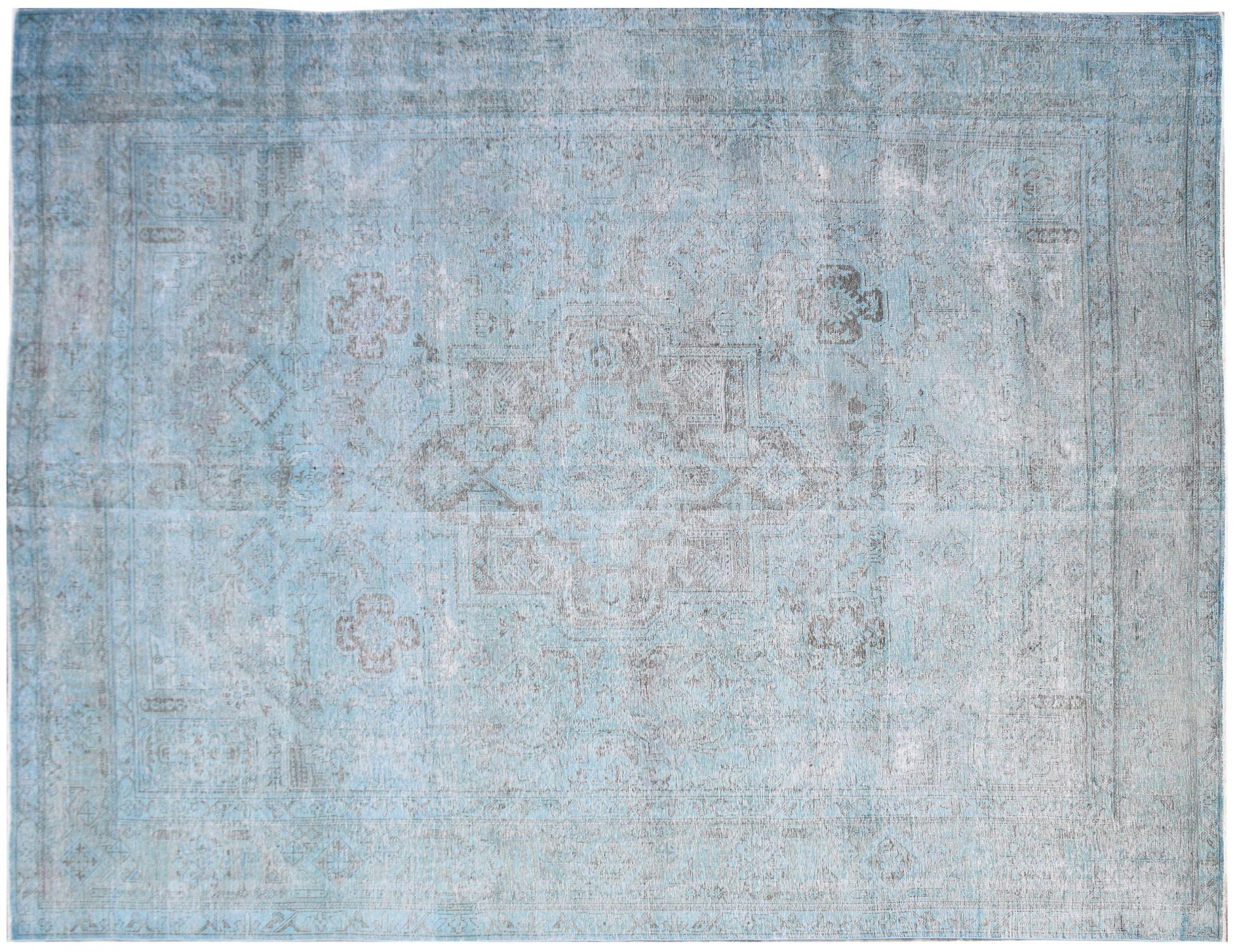 Tappeto Vintage  blu <br/>385 x 302 cm