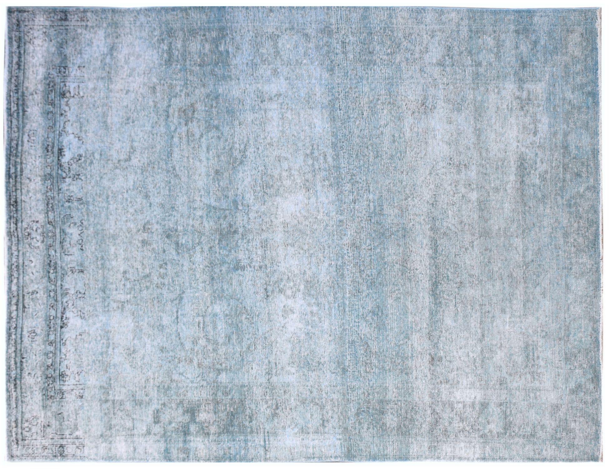 Tappeto Vintage  blu <br/>281 x 202 cm