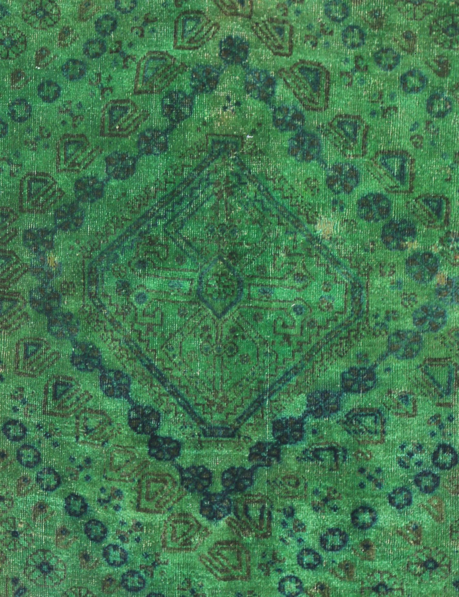 Tappeto Vintage  verde <br/>193 x 97 cm