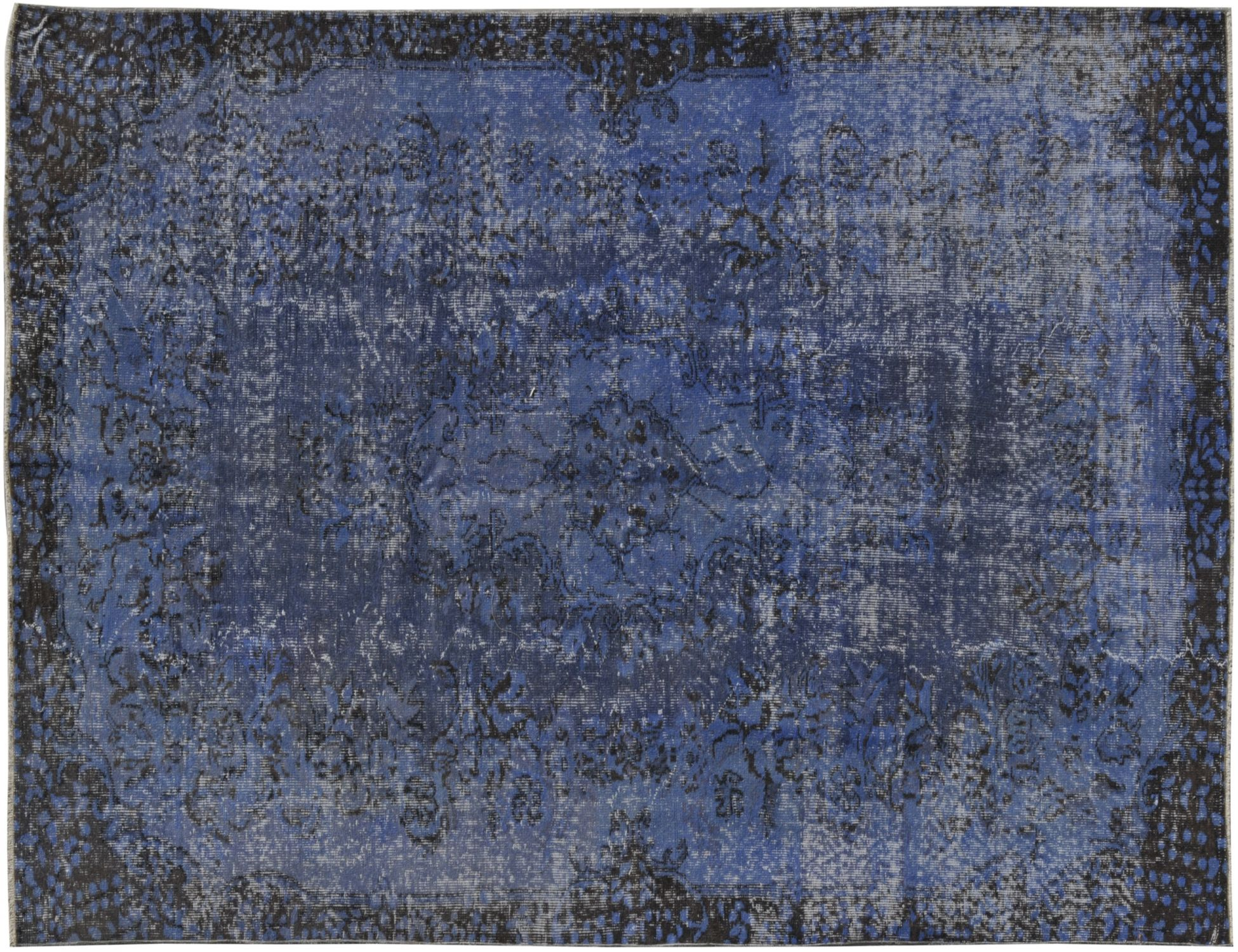 Tappeto Vintage  blu <br/>260 x 165 cm