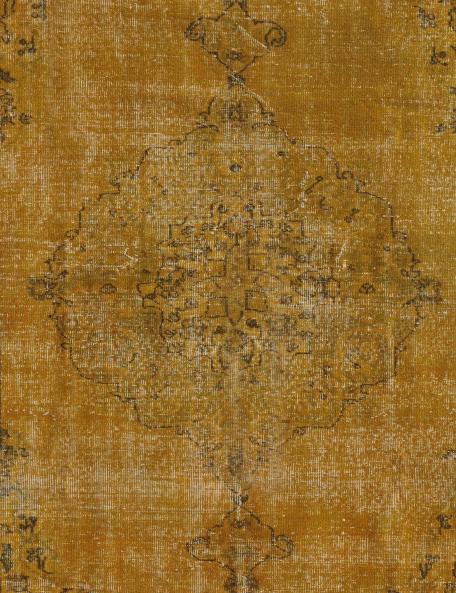 Tappeto Vintage  giallo <br/>261 x 167 cm