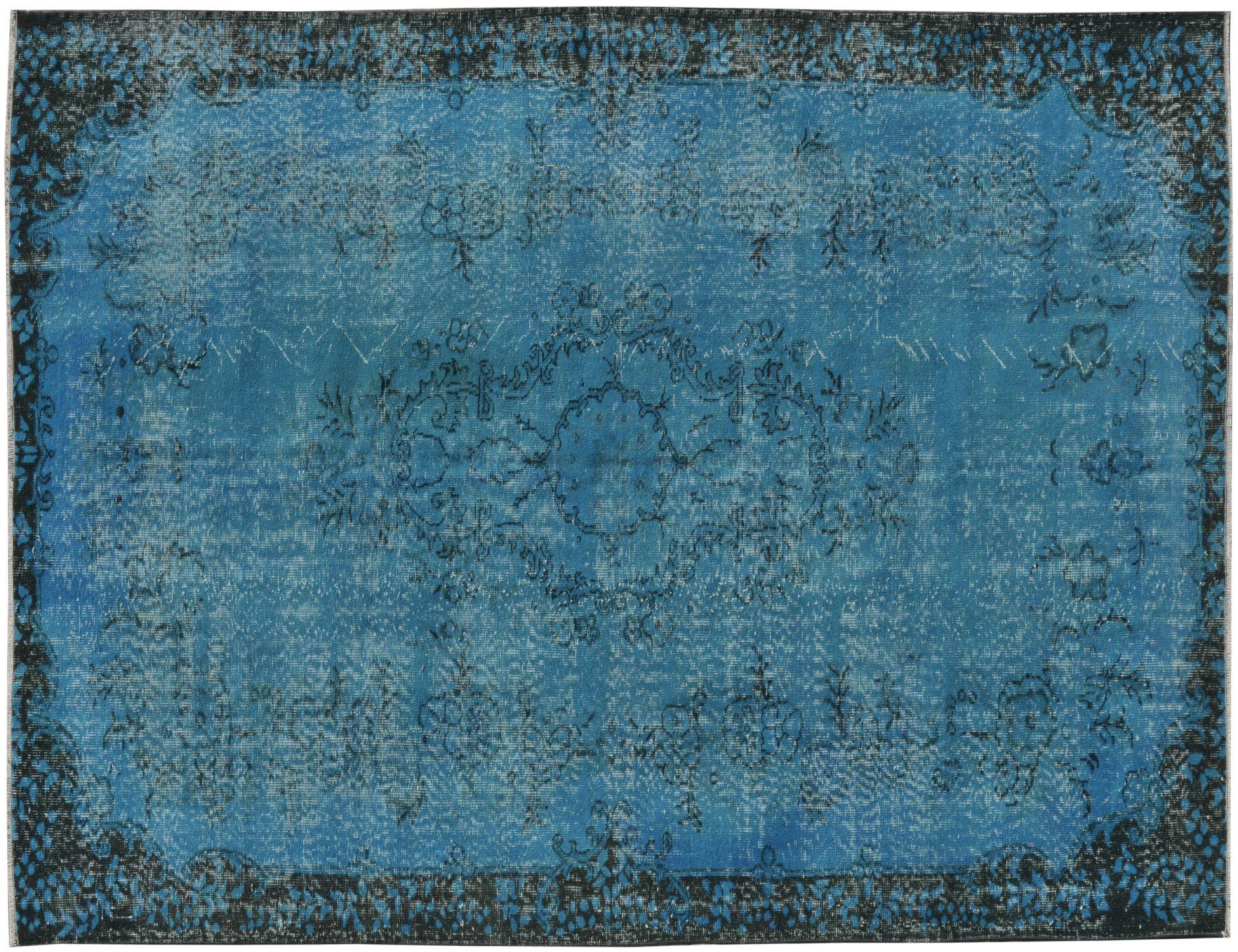 Vintage Teppich  blau <br/>271 x 185 cm