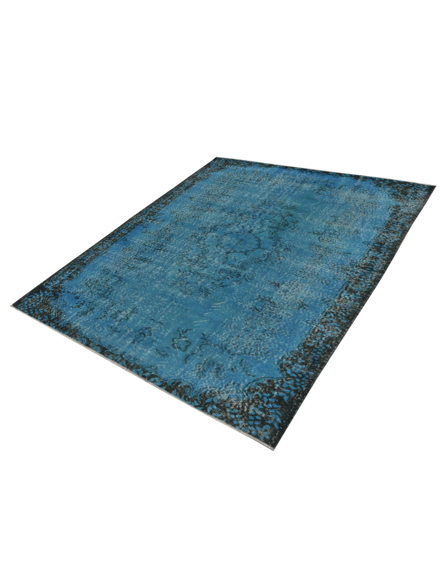 Tappeto Vintage  blu <br/>271 x 185 cm