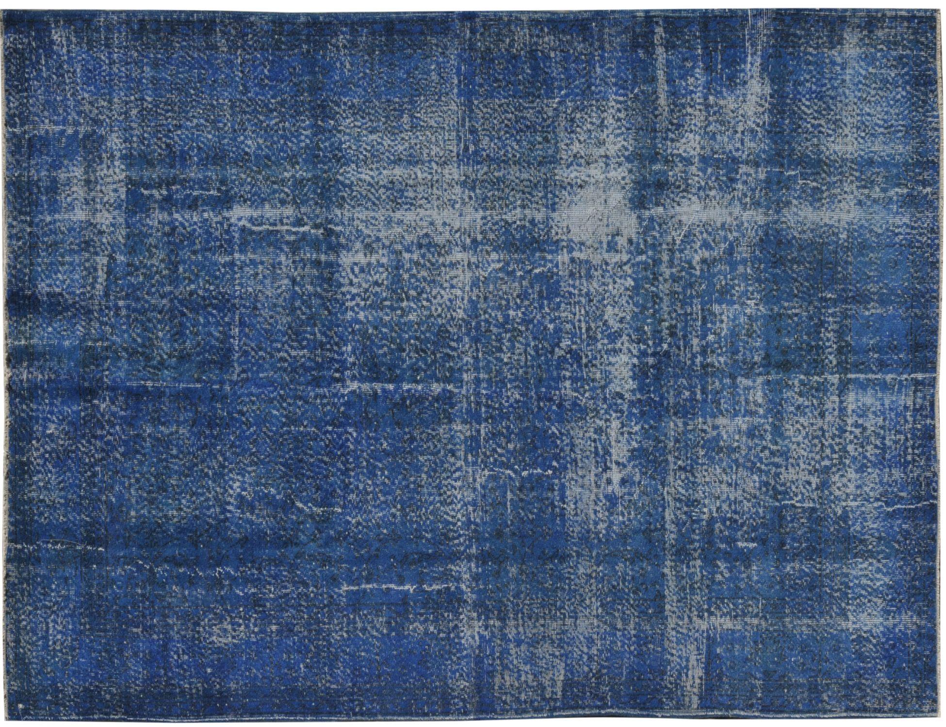 Tappeto Vintage  blu <br/>302 x 191 cm