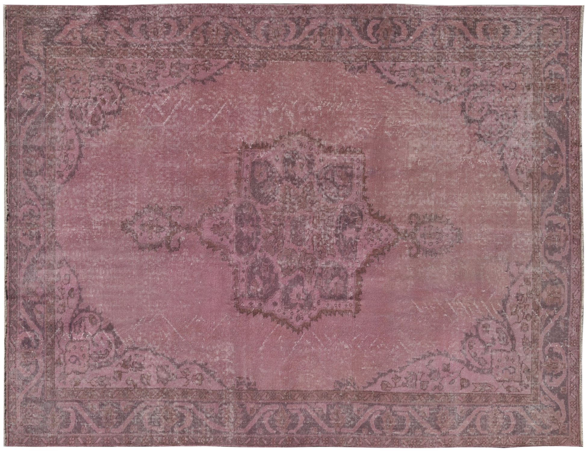 Tappeto Vintage  rosa <br/>254 x 164 cm