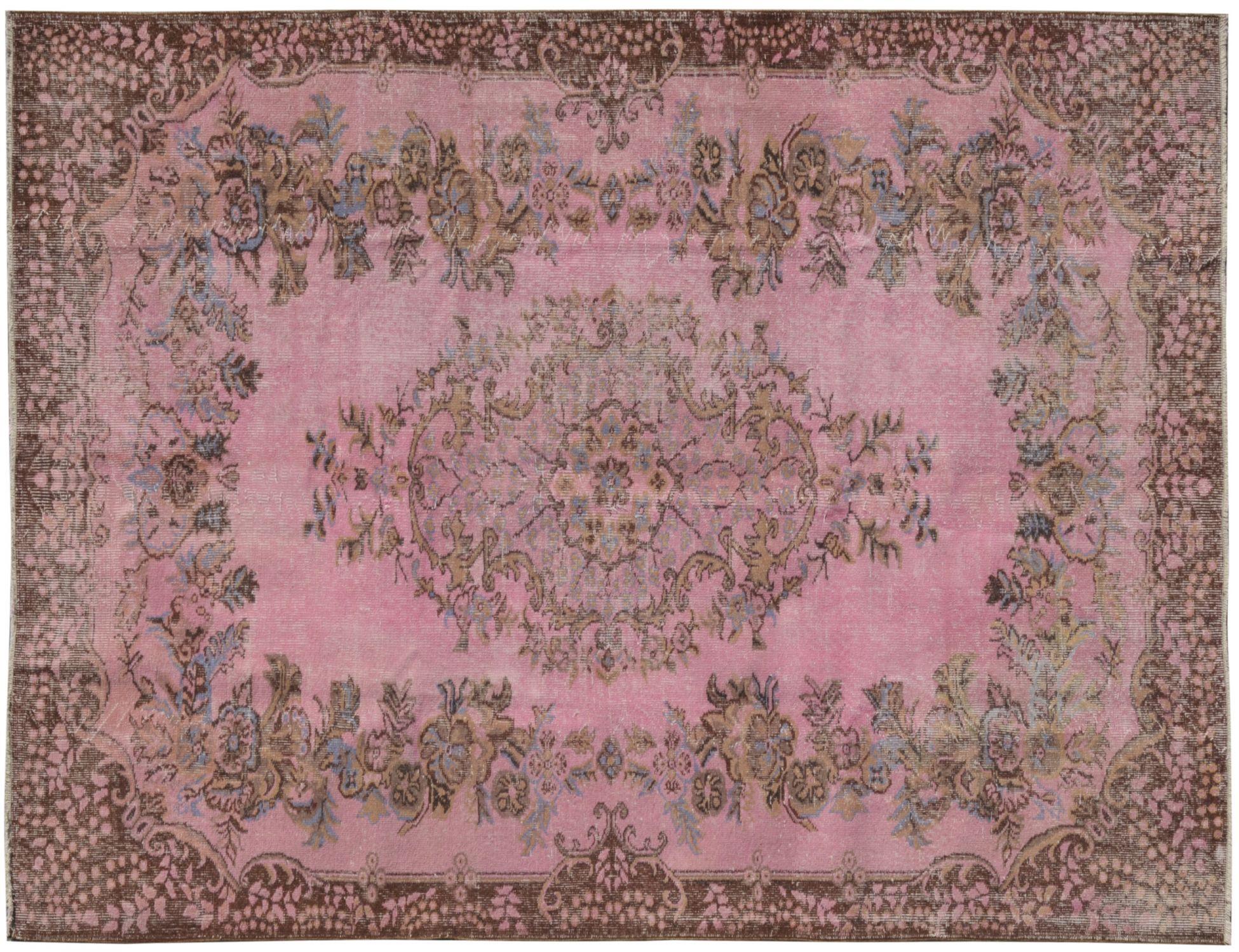 Tappeto Vintage  rosa <br/>272 x 180 cm