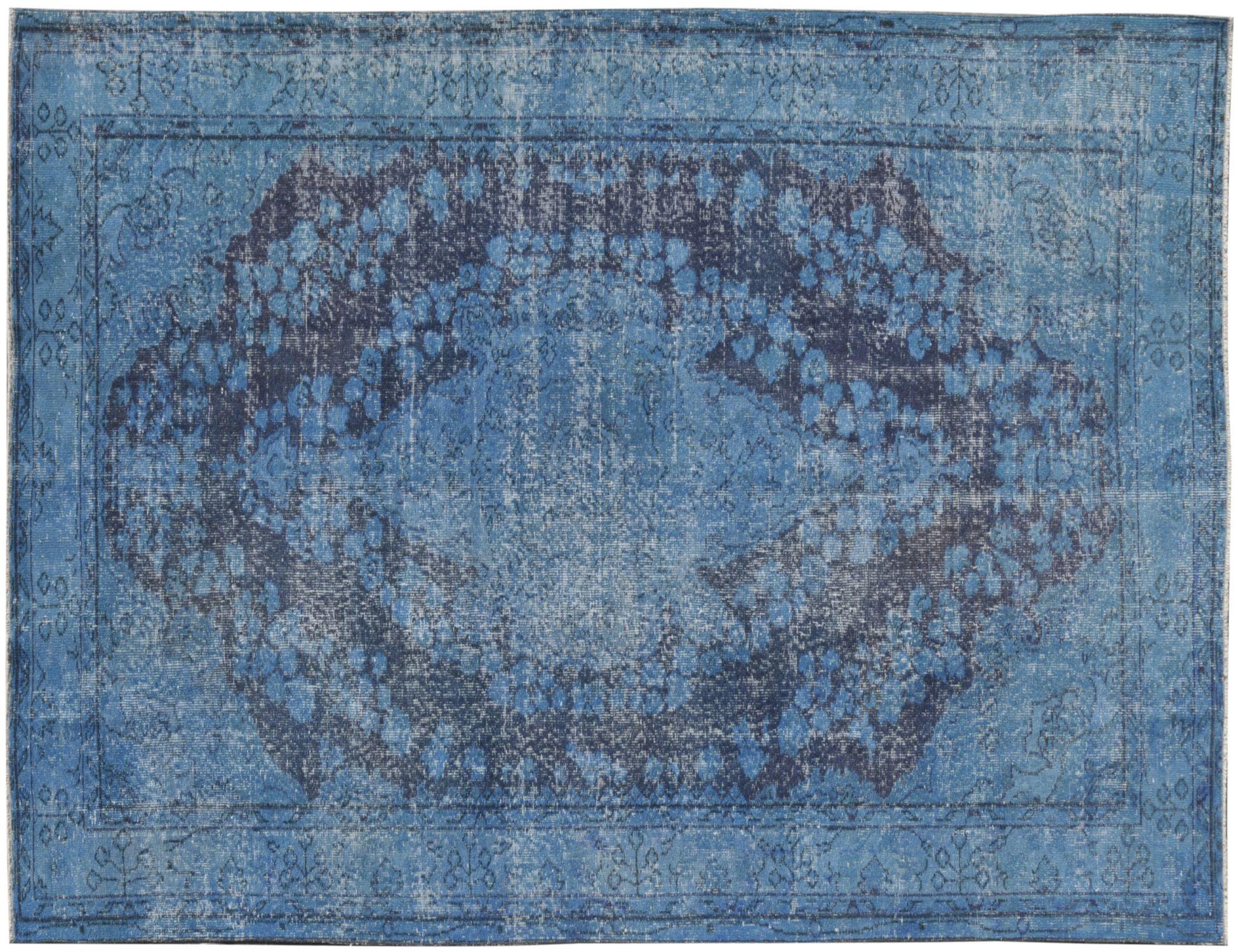 Vintage Teppich  blau <br/>286 x 163 cm
