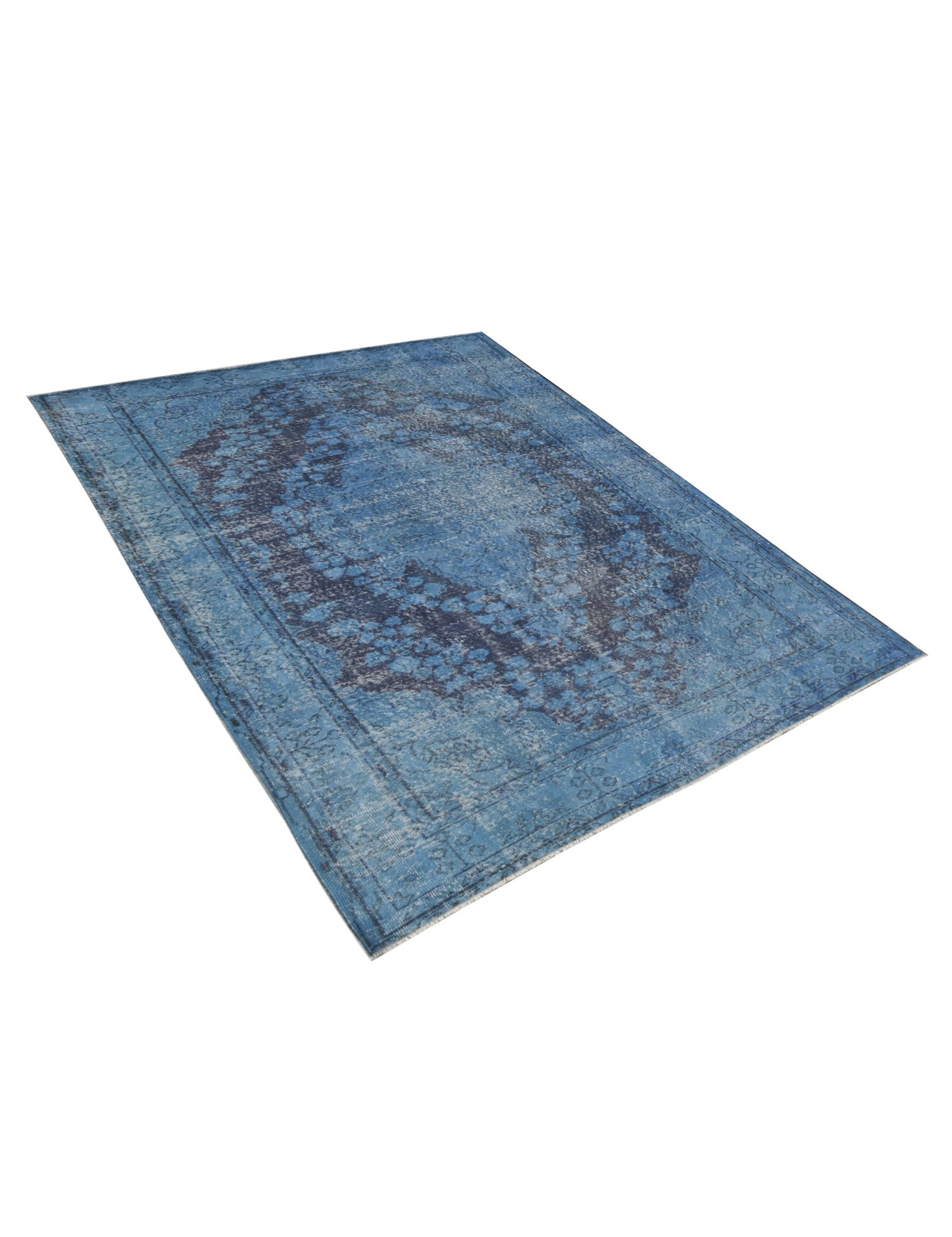 Tappeto Vintage  blu <br/>286 x 163 cm
