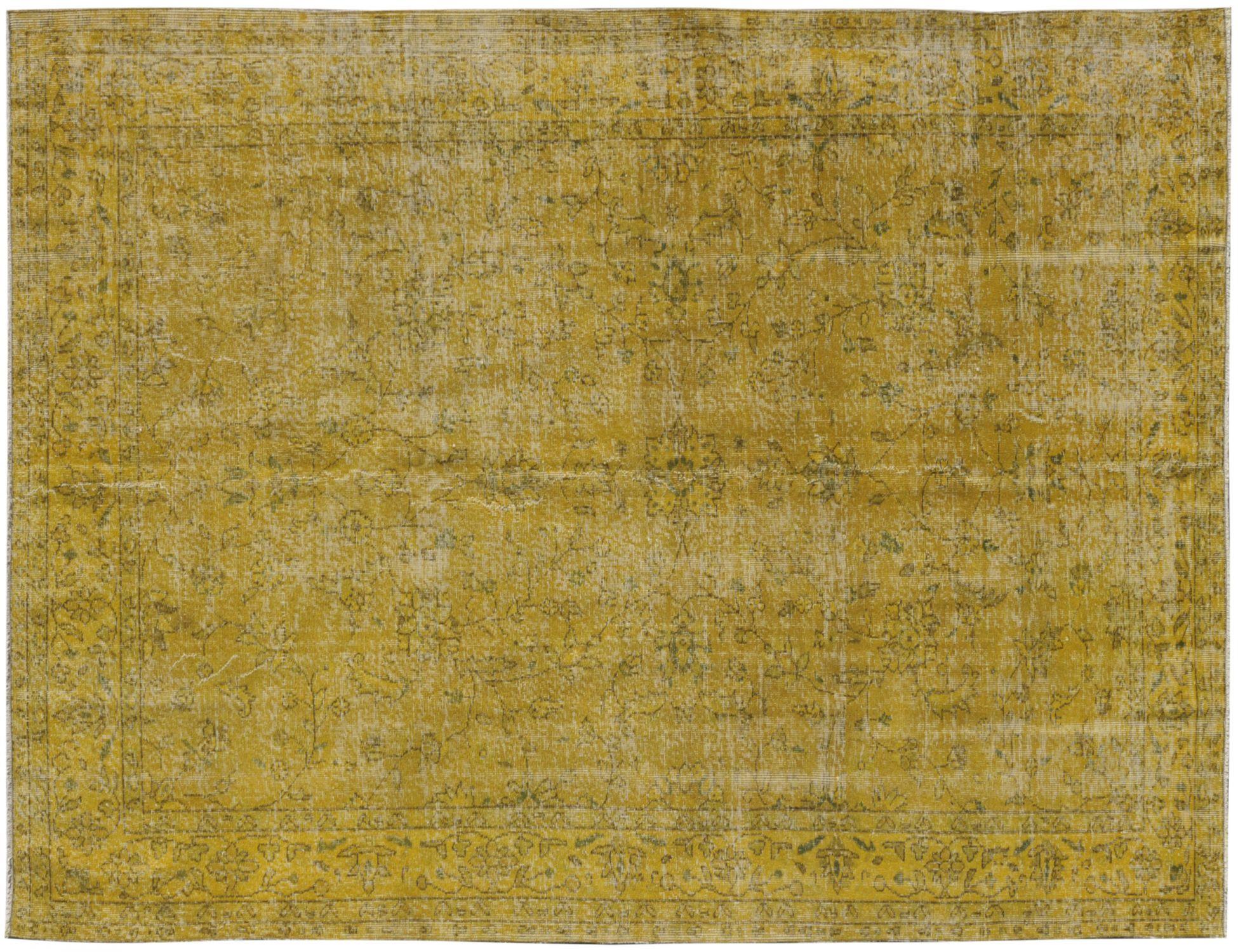 Tappeto Vintage  giallo <br/>301 x 194 cm