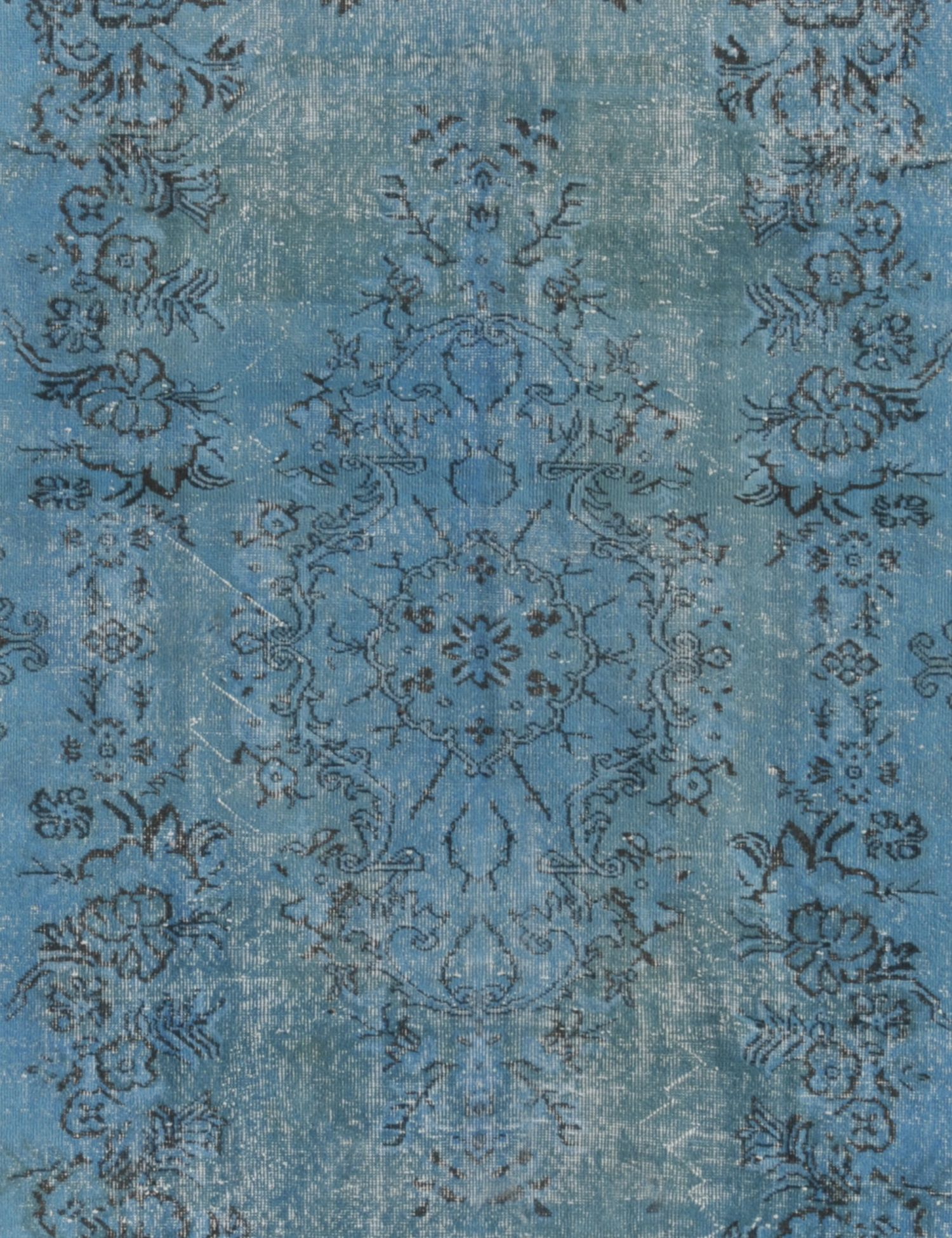 Tappeto Vintage  blu <br/>306 x 177 cm