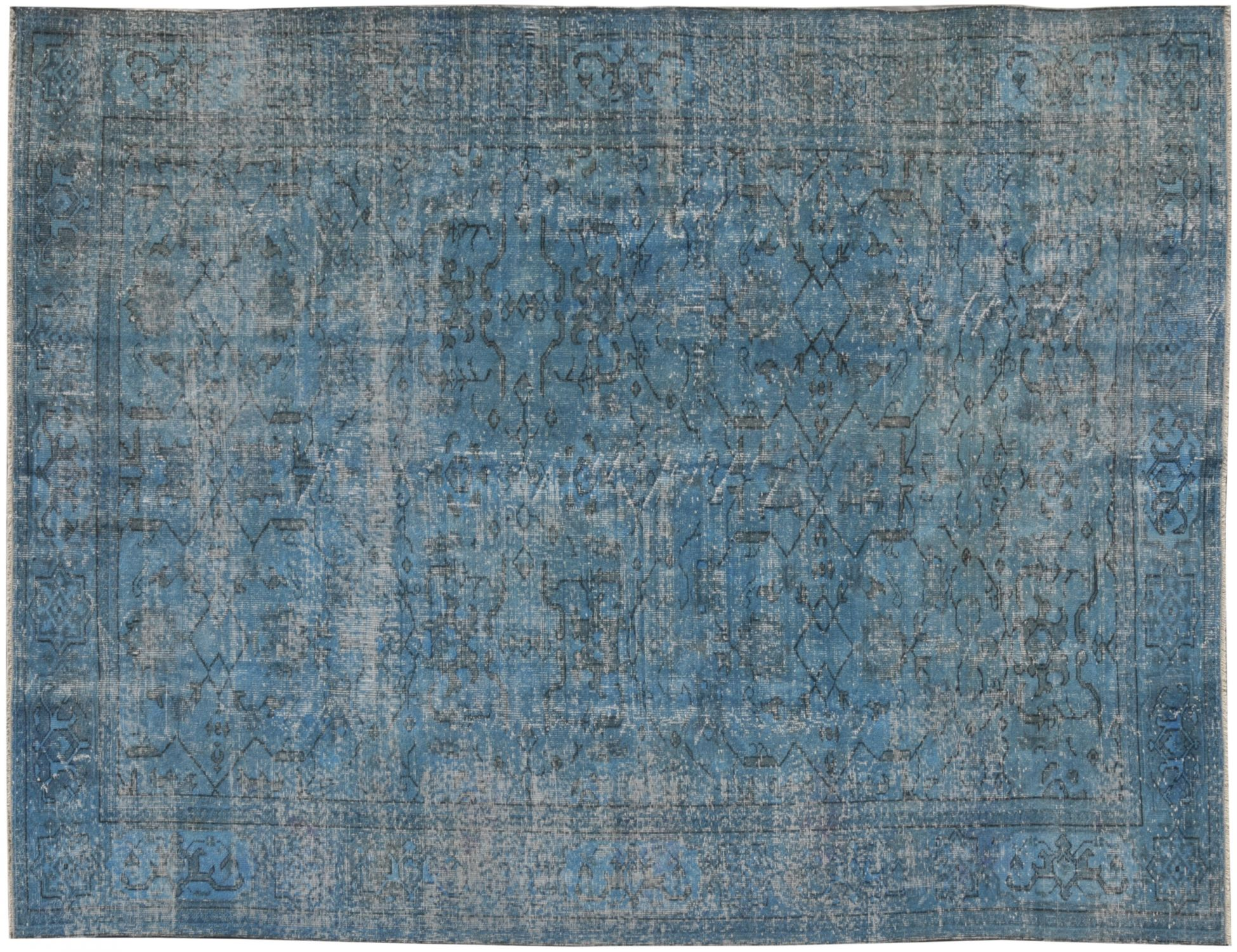 Tappeto Vintage  turchese <br/>301 x 209 cm
