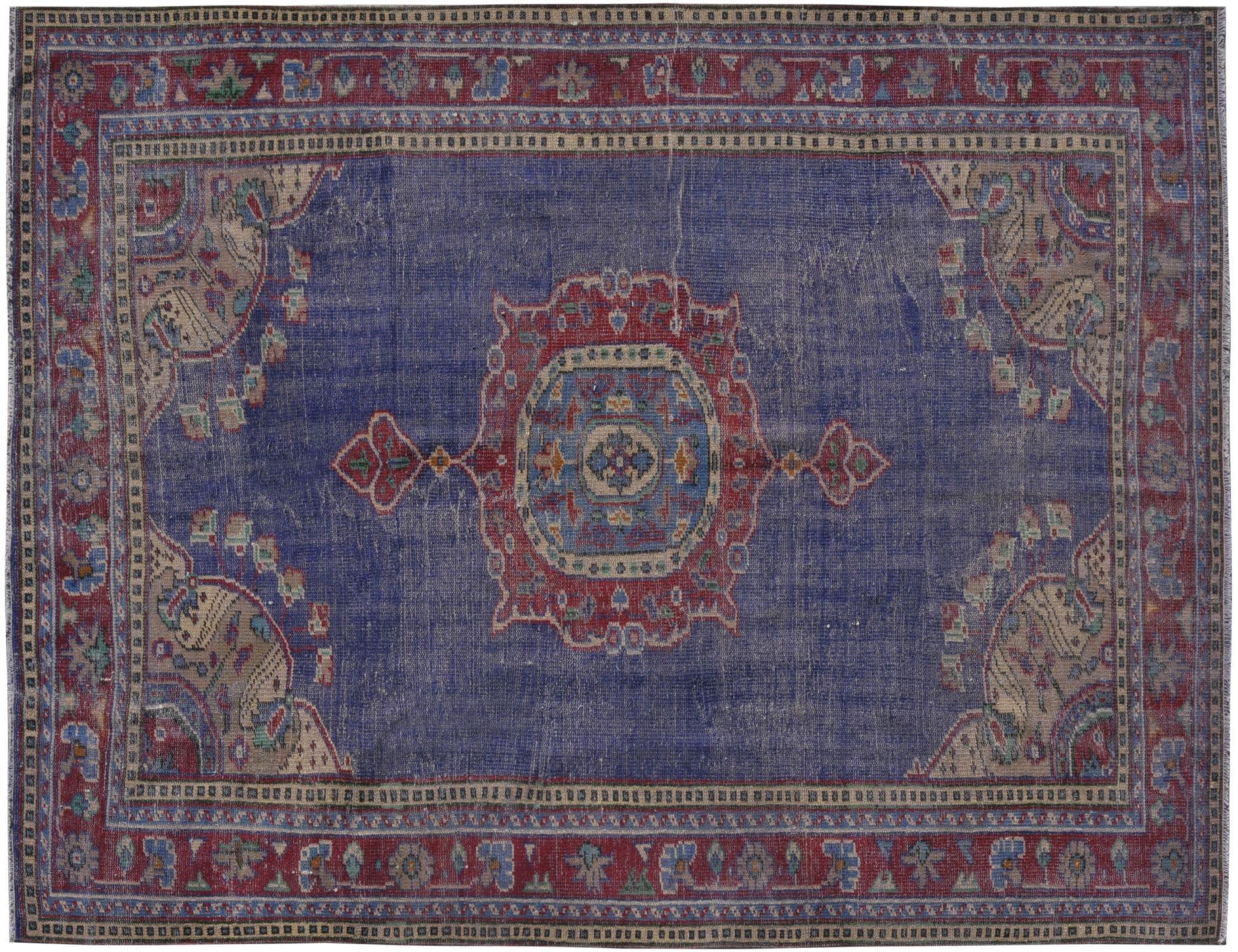 Tappeto Vintage  blu <br/>291 x 200 cm