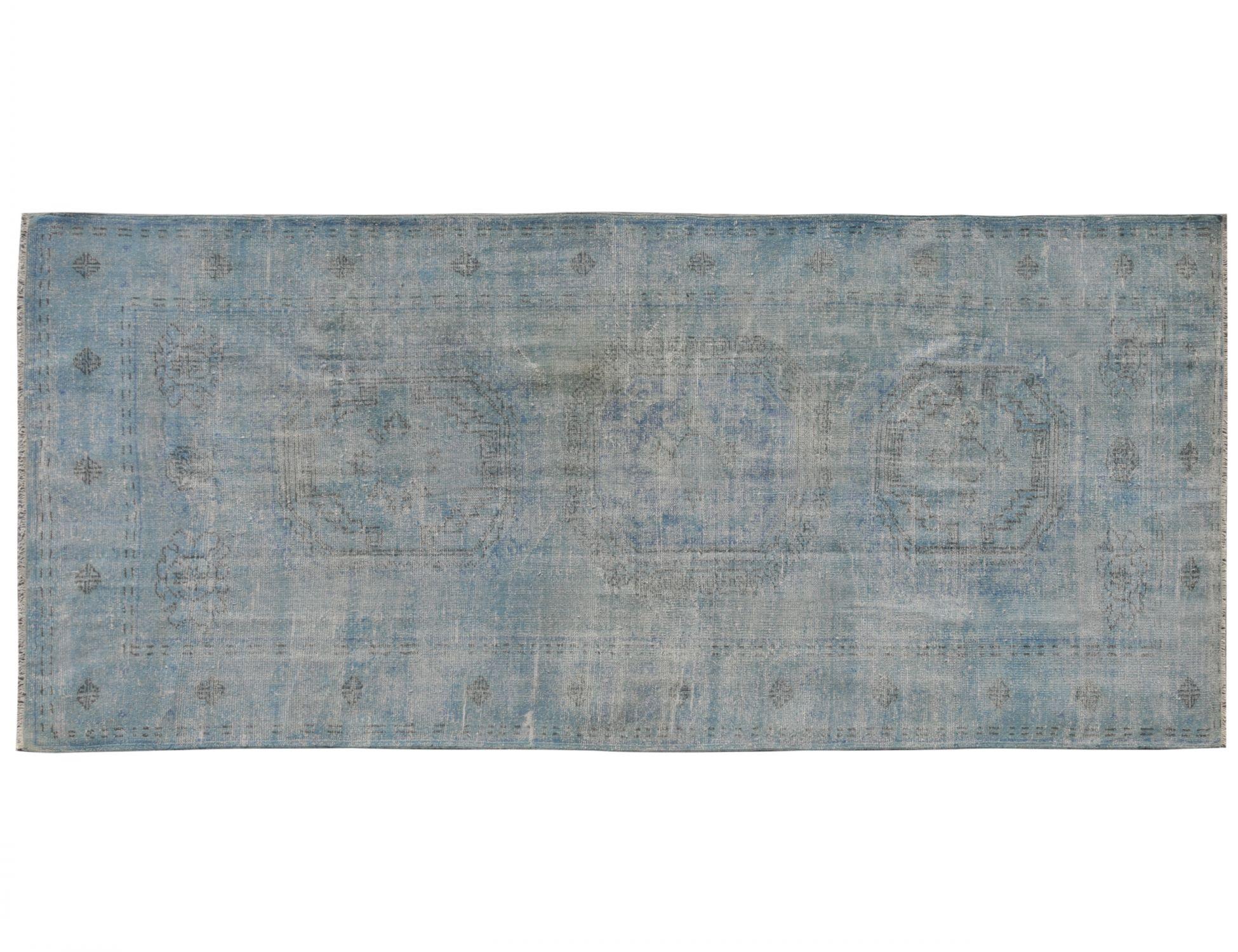 Tappeto Vintage  blu <br/>334 x 151 cm