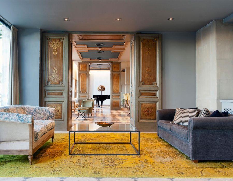 I tappeti vintage persiani innalzano la qualità di un hotel boutique a Barcellona