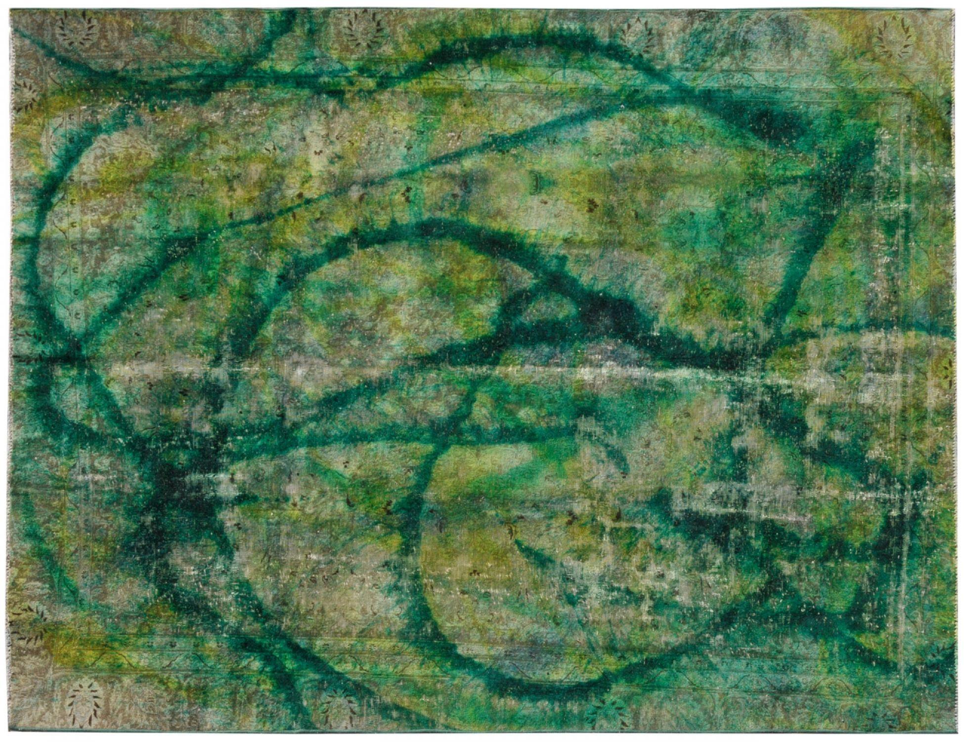 Vintage Carpet  green <br/>340 x 252 cm