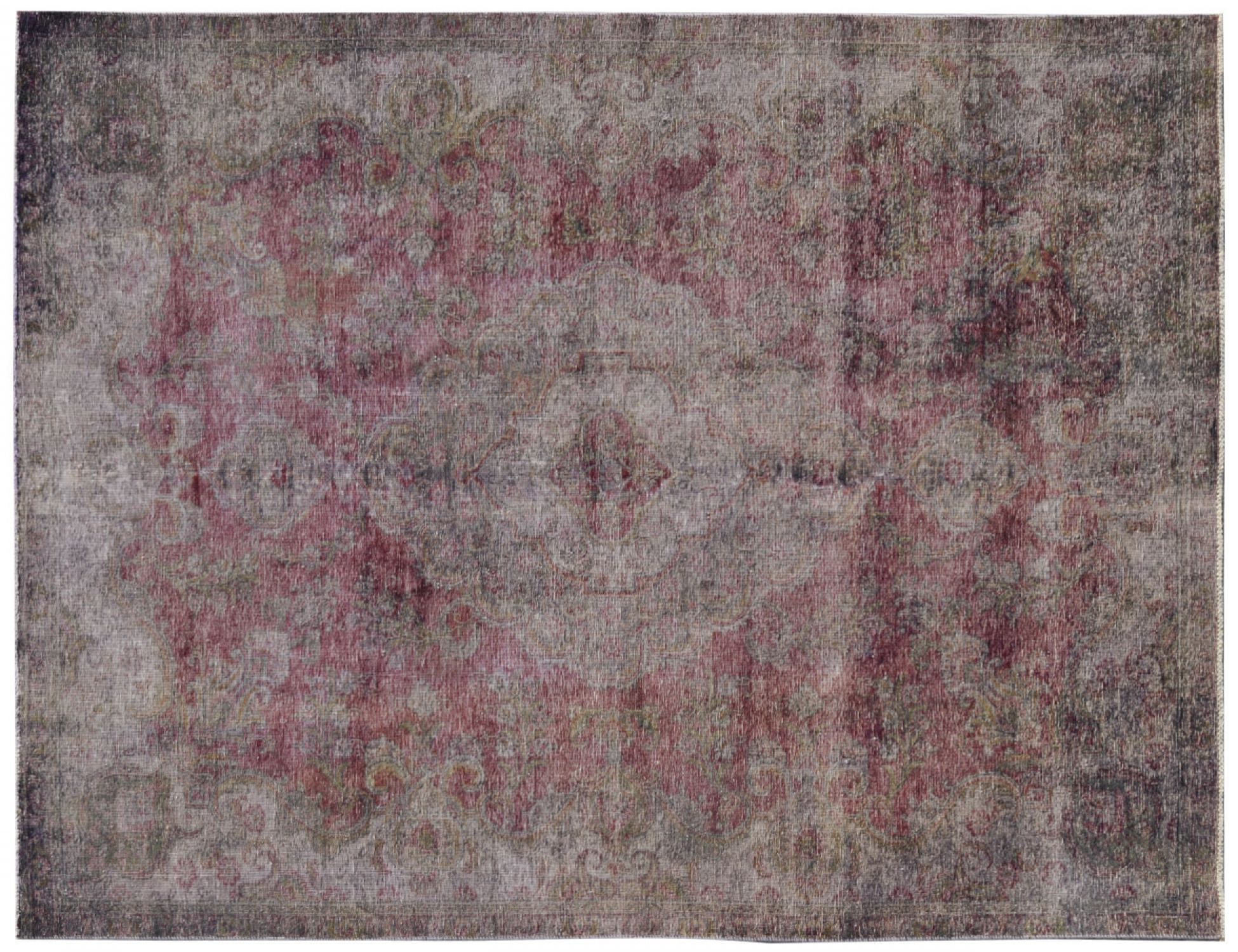 Vintage Matta  röd <br/>313 x 215 cm