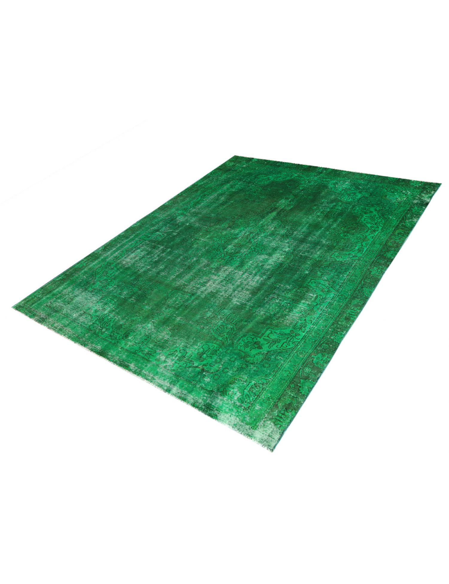 Vintage Teppich  grün <br/>330 x 246 cm