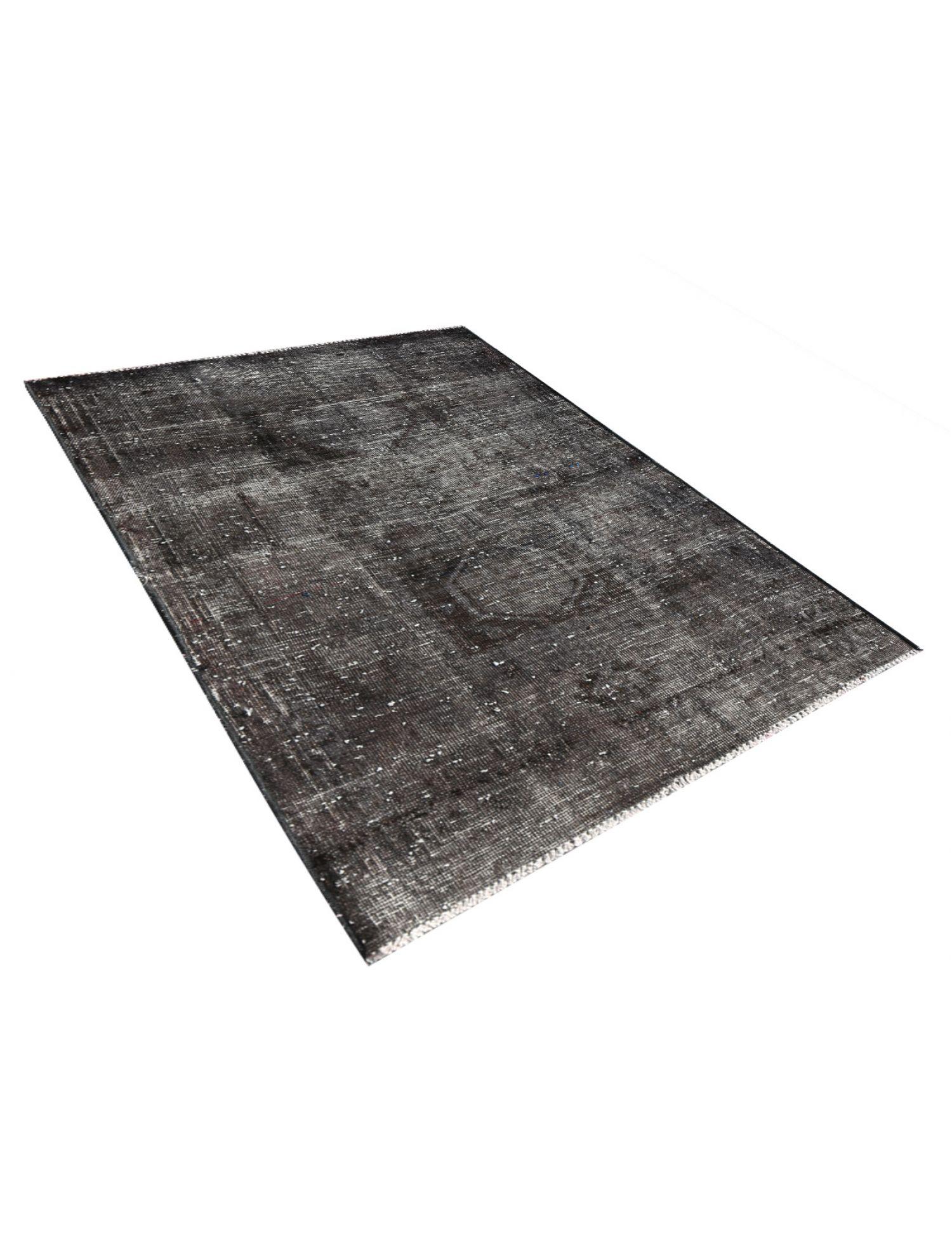 Vintage Teppich  schwarz <br/>144 x 109 cm