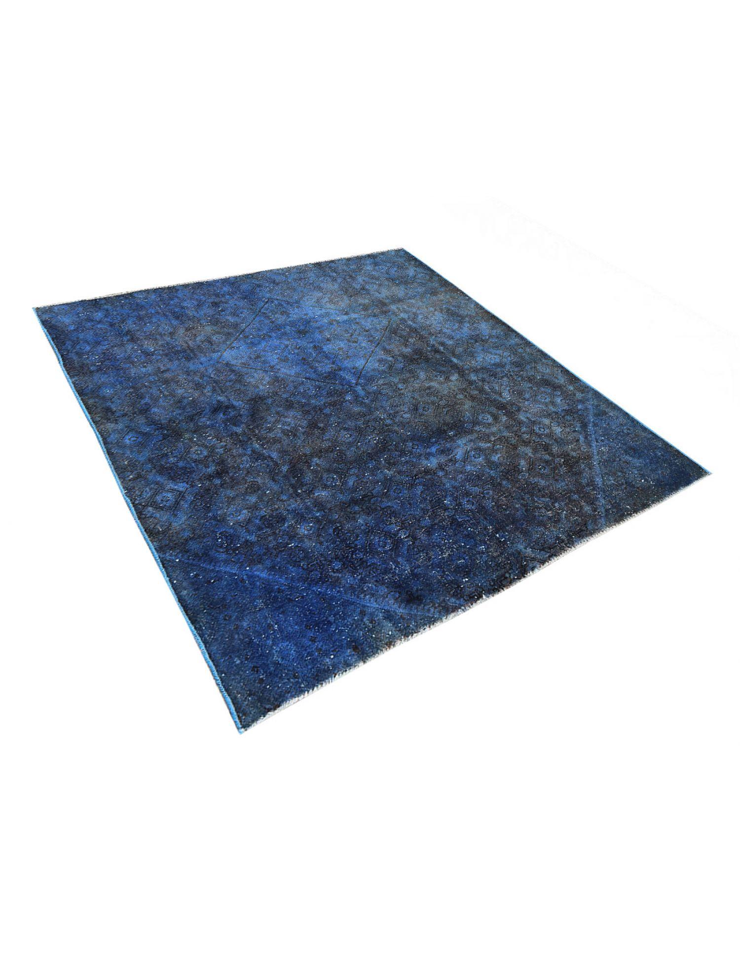 Vintage Teppich  blau <br/>218 x 200 cm
