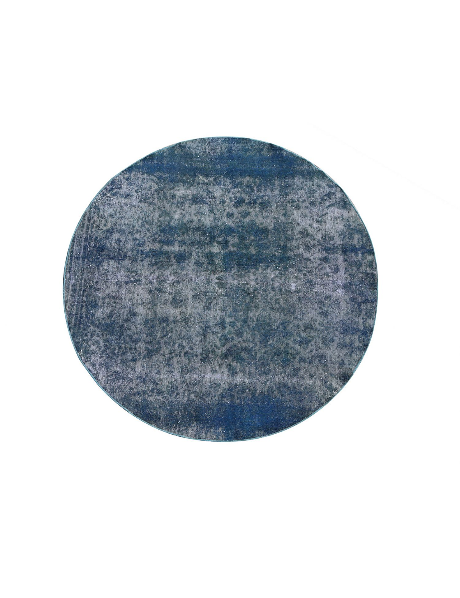 Tappeto Vintage  blu <br/>245 x 245 cm