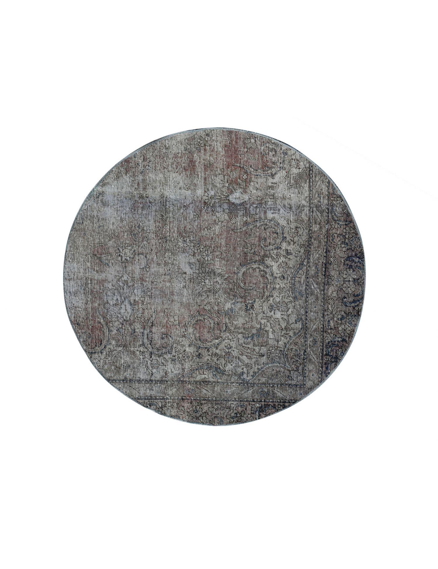 Tappeto Vintage  grigio <br/>160 x 160 cm