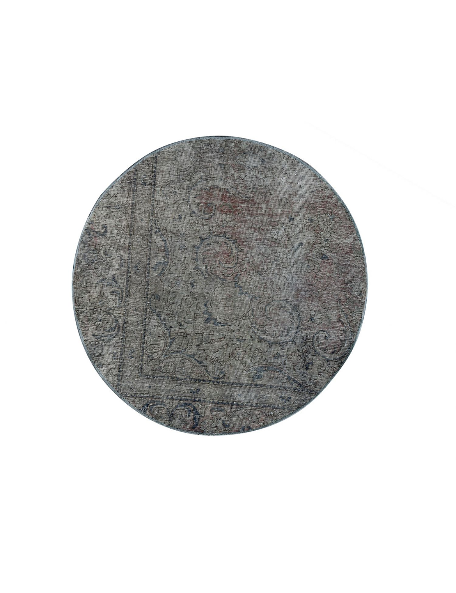 Tappeto Vintage  grigio <br/>131 x 131 cm
