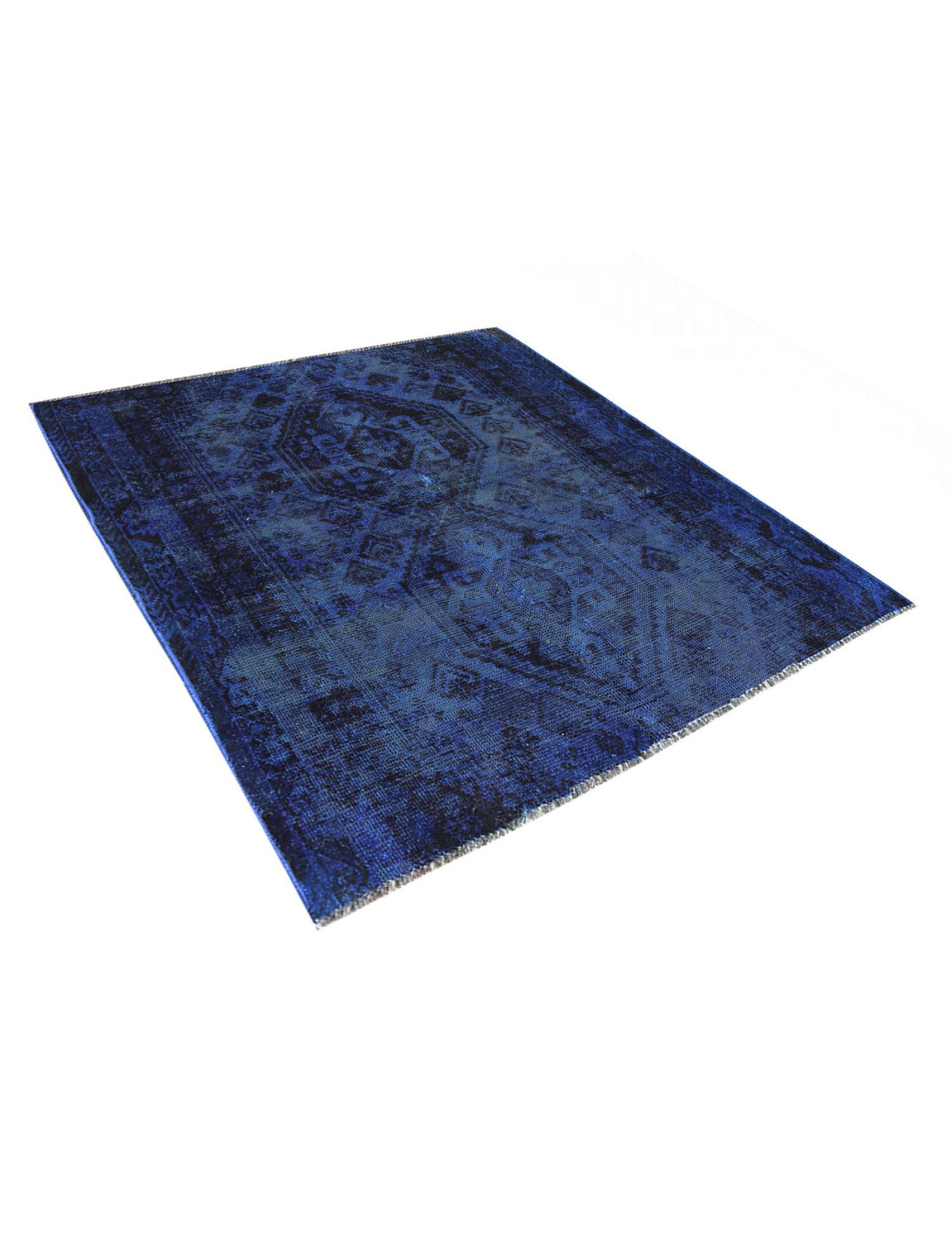 Tappeto Vintage  blu <br/>149 x 148 cm