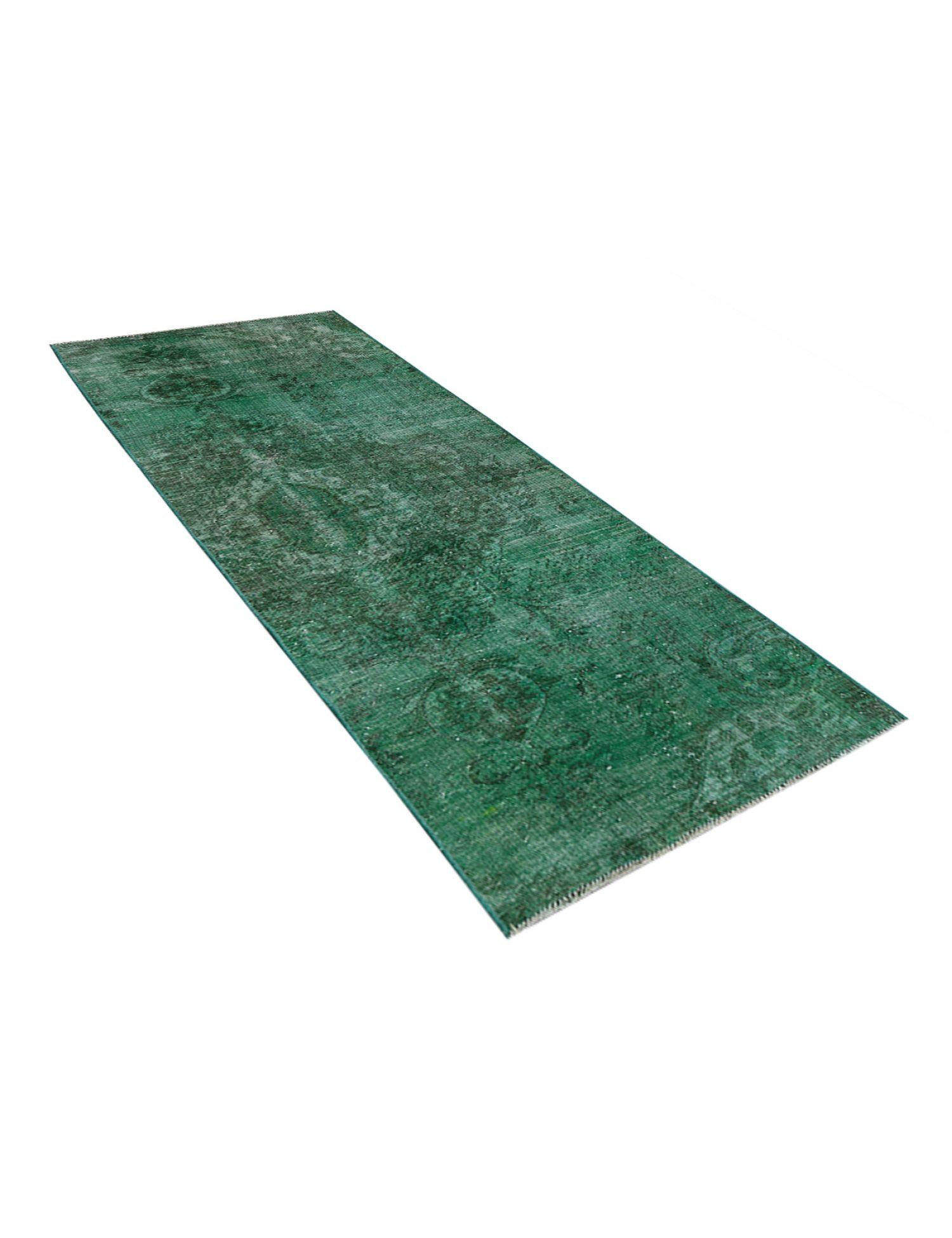 Tappeto Vintage  verde <br/>300 x 97 cm