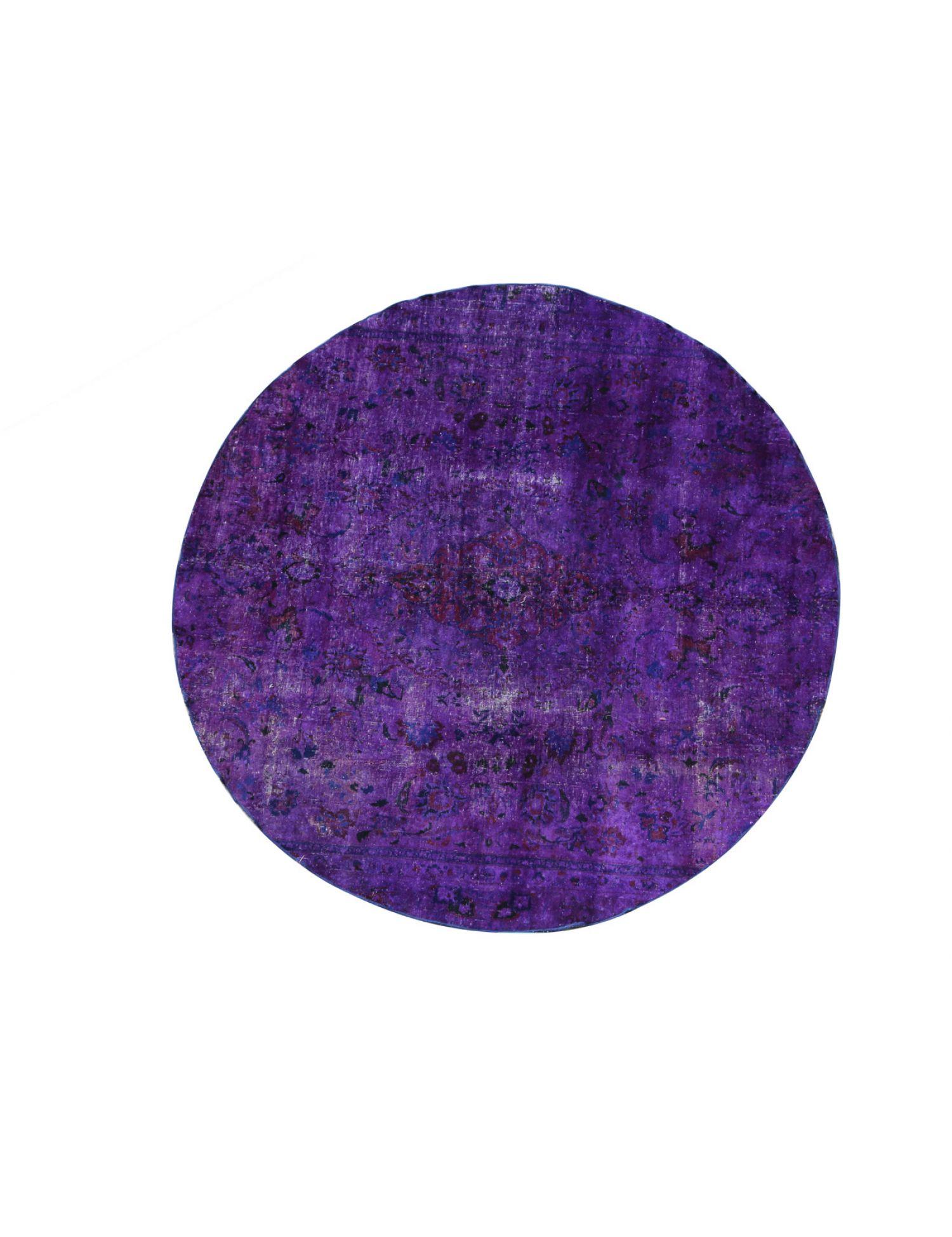 Vintage Carpet  purple <br/>260 x 260 cm