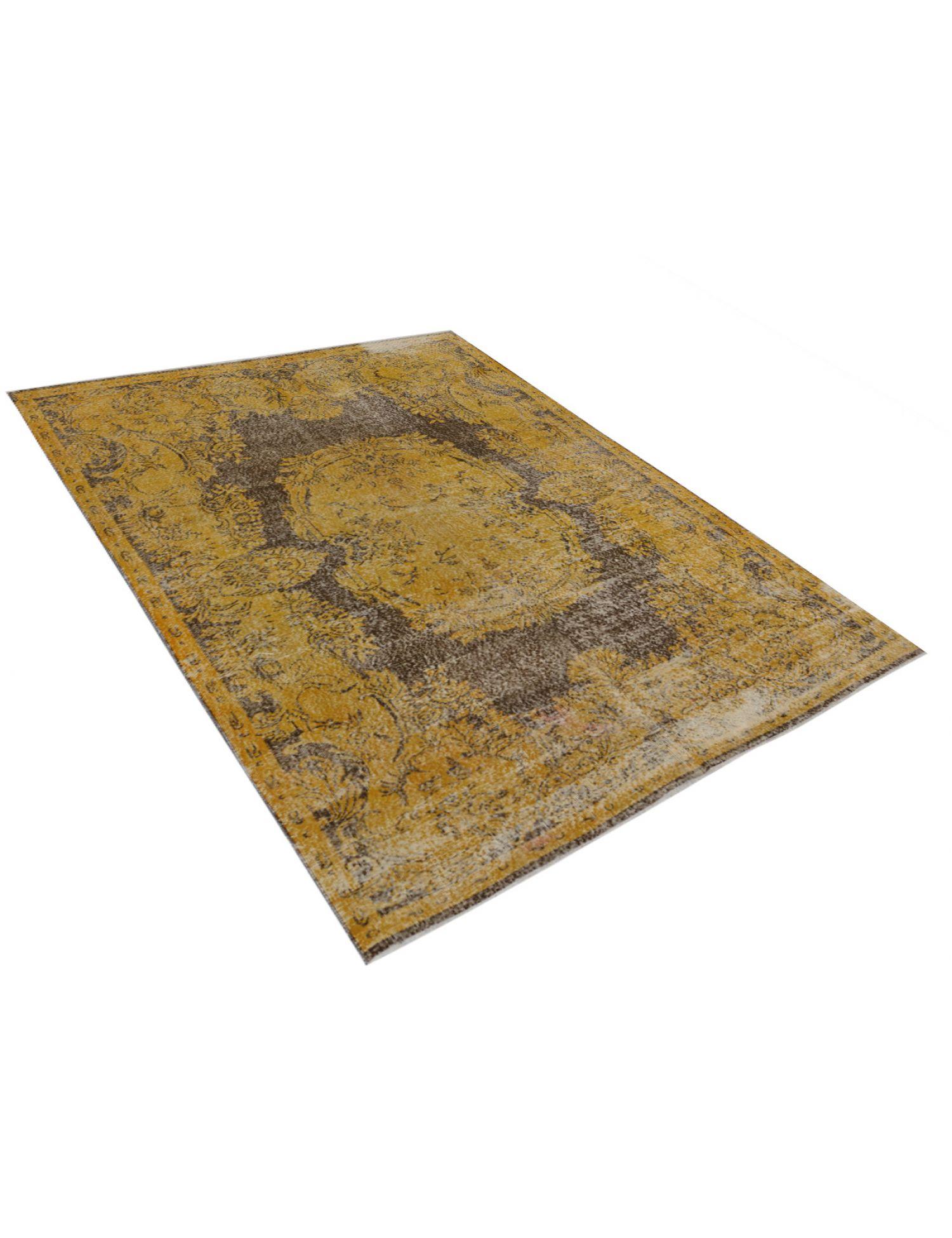 Vintage Teppich  gelb <br/>302 x 197 cm