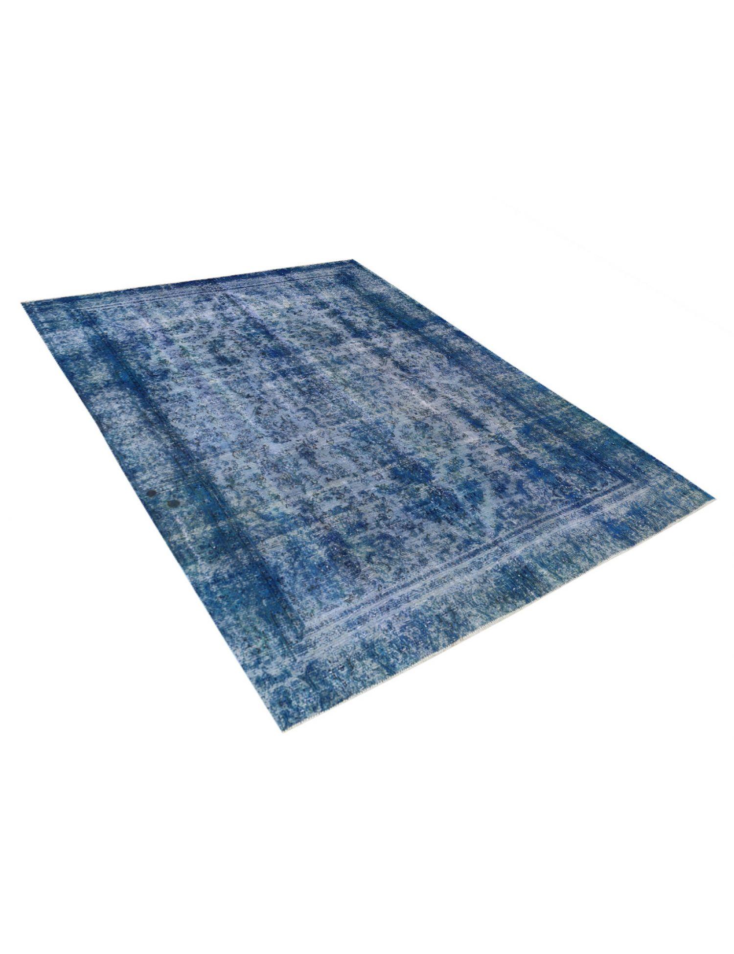 Vintage Teppich  blau <br/>340 x 266 cm