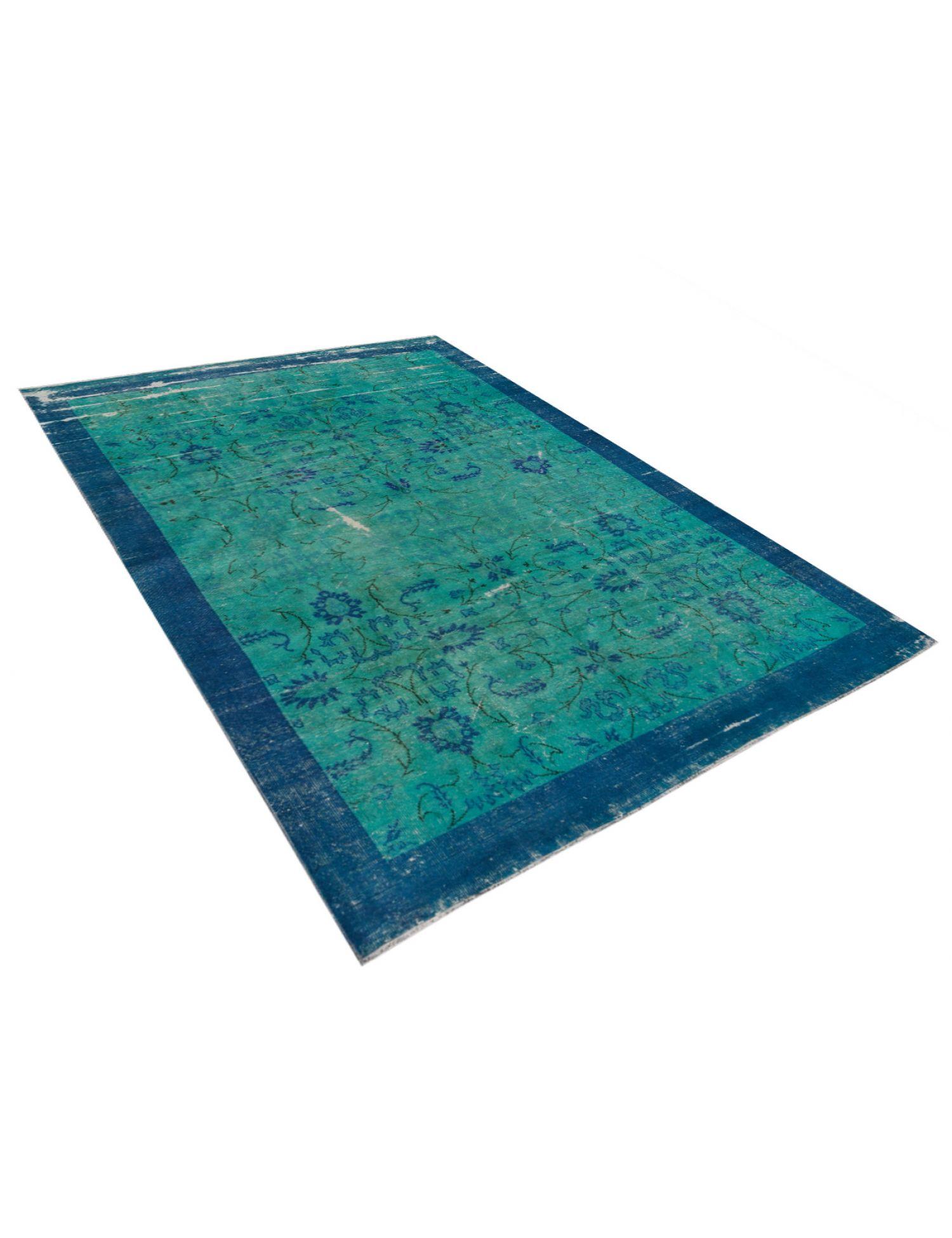 Vintage Teppich  grün <br/>298 x 217 cm