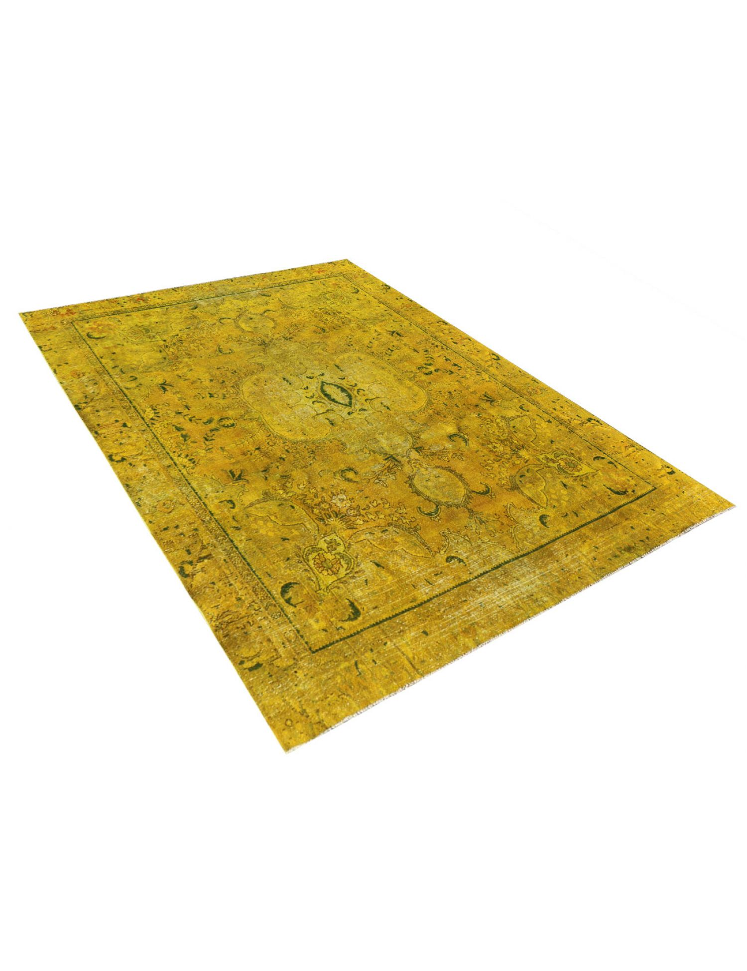 Vintage Teppich  gelb <br/>355 x 278 cm