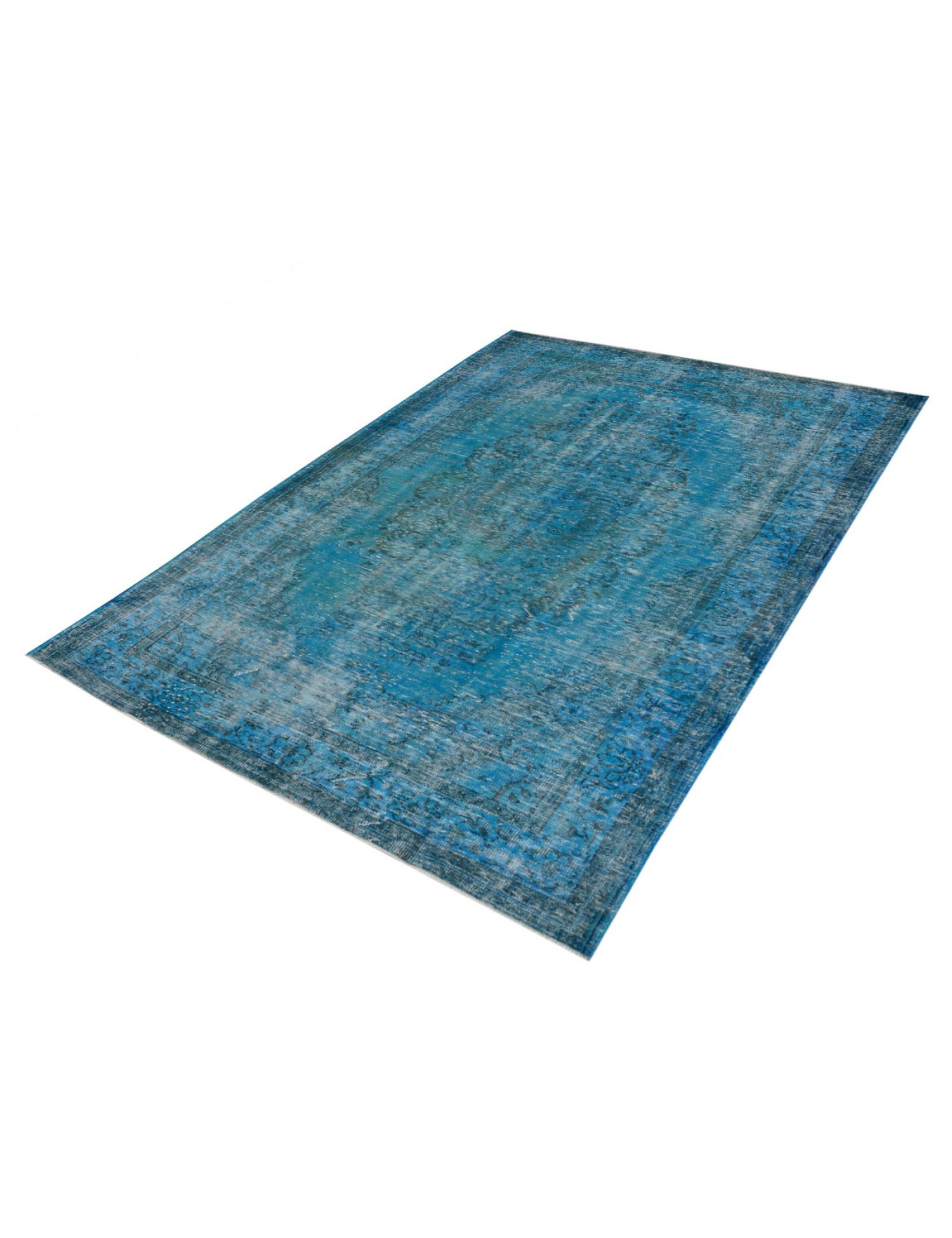 Vintage Teppich  blau <br/>315 x 197 cm