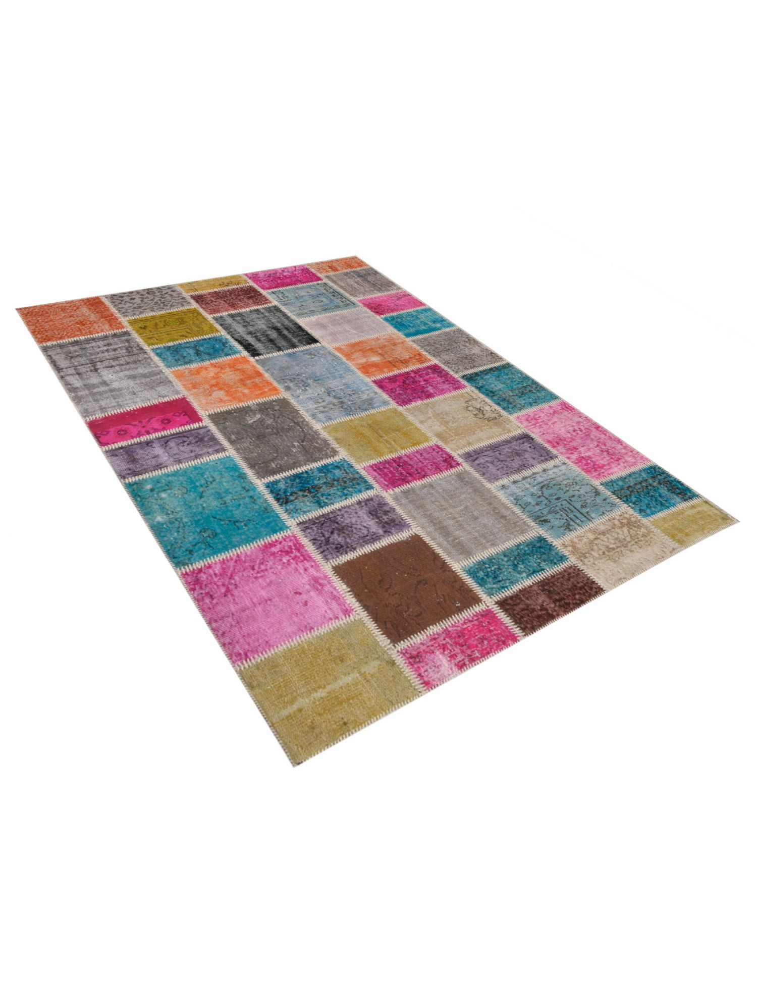 Tappeto Patchwork  multi colore <br/>180 x 120 cm