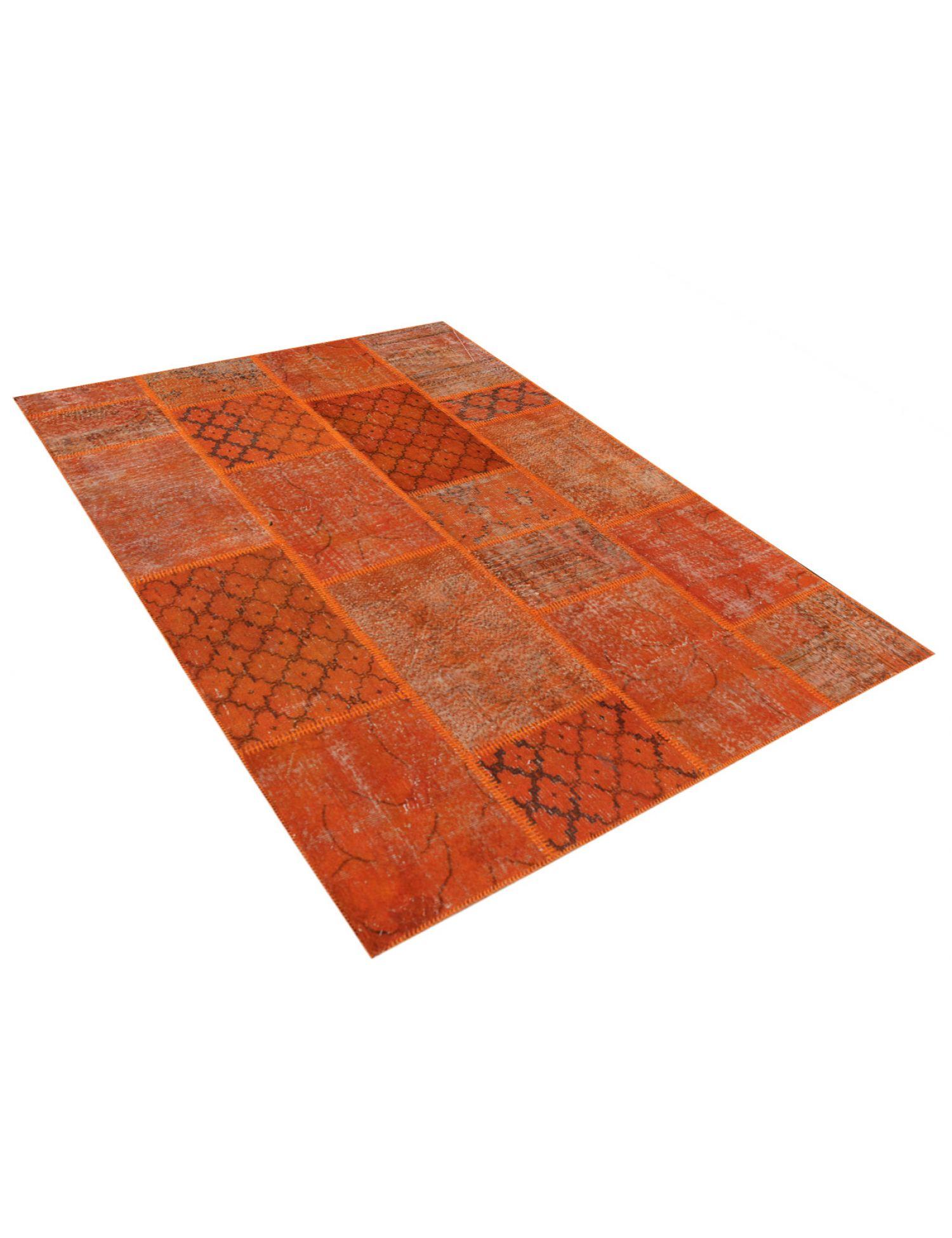 Tappeto Patchwork  arancia <br/>240 x 170 cm