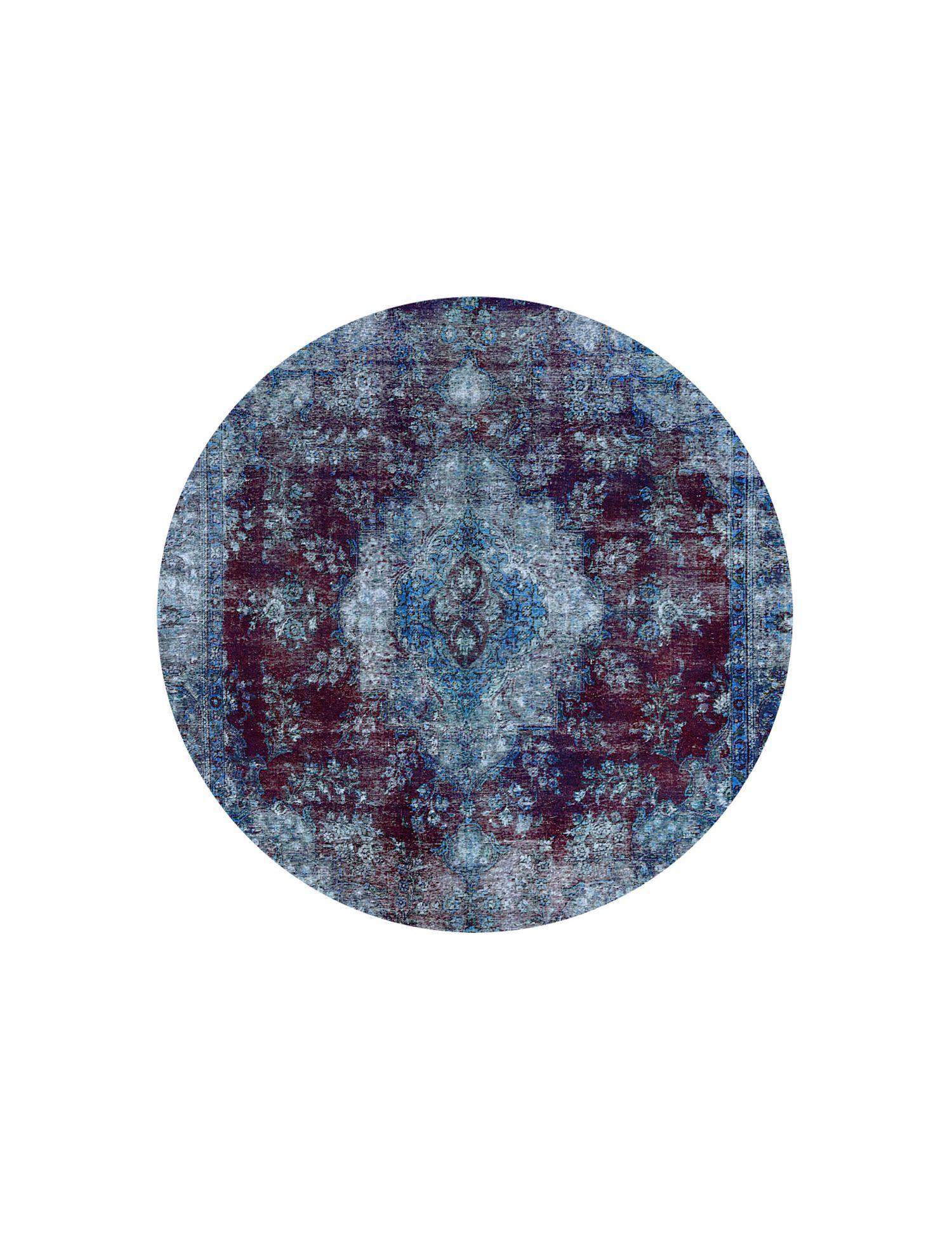 Tappeto Vintage  blu <br/>260 x 260 cm