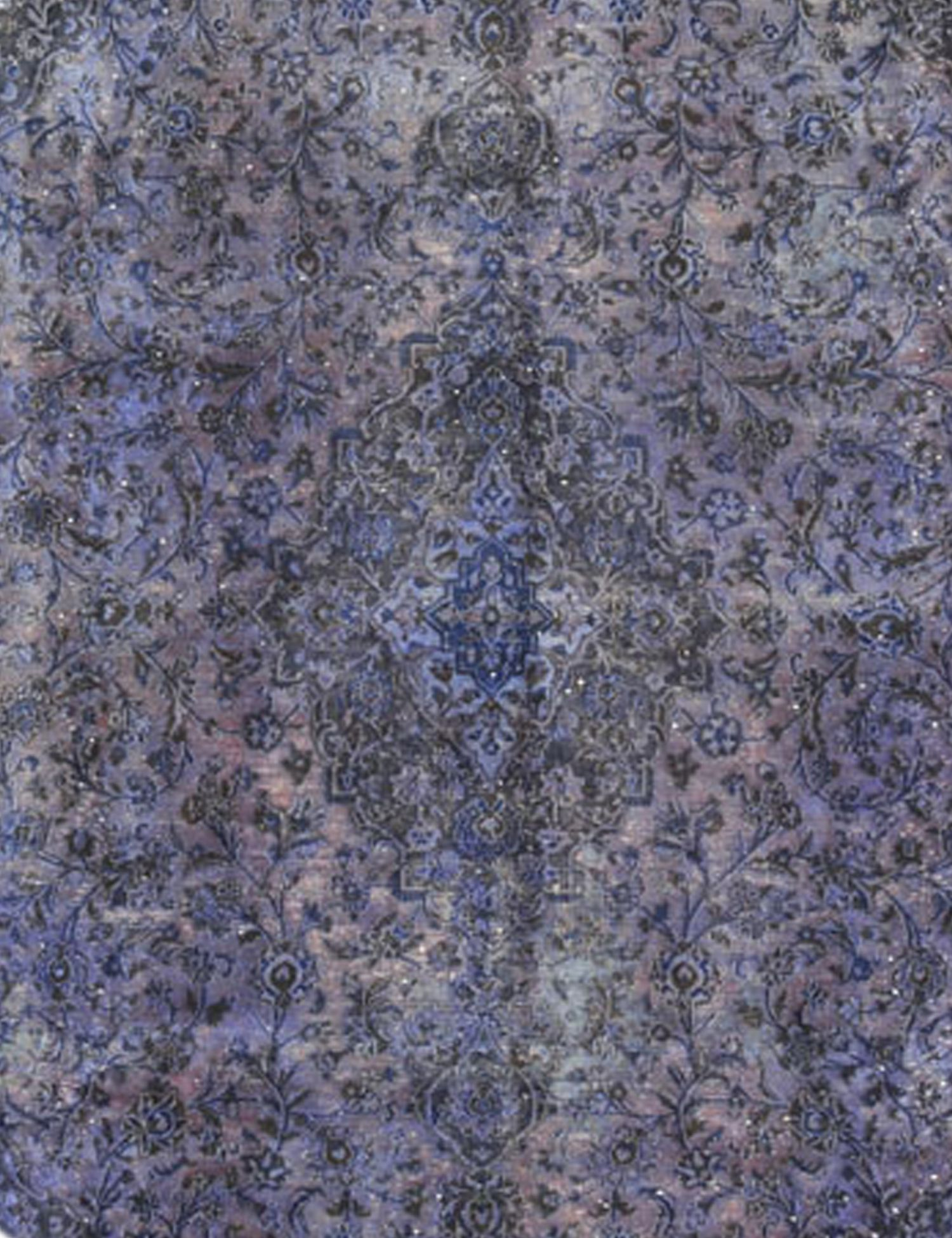 Vintage Teppich rund  lila <br/>261 x 261 cm