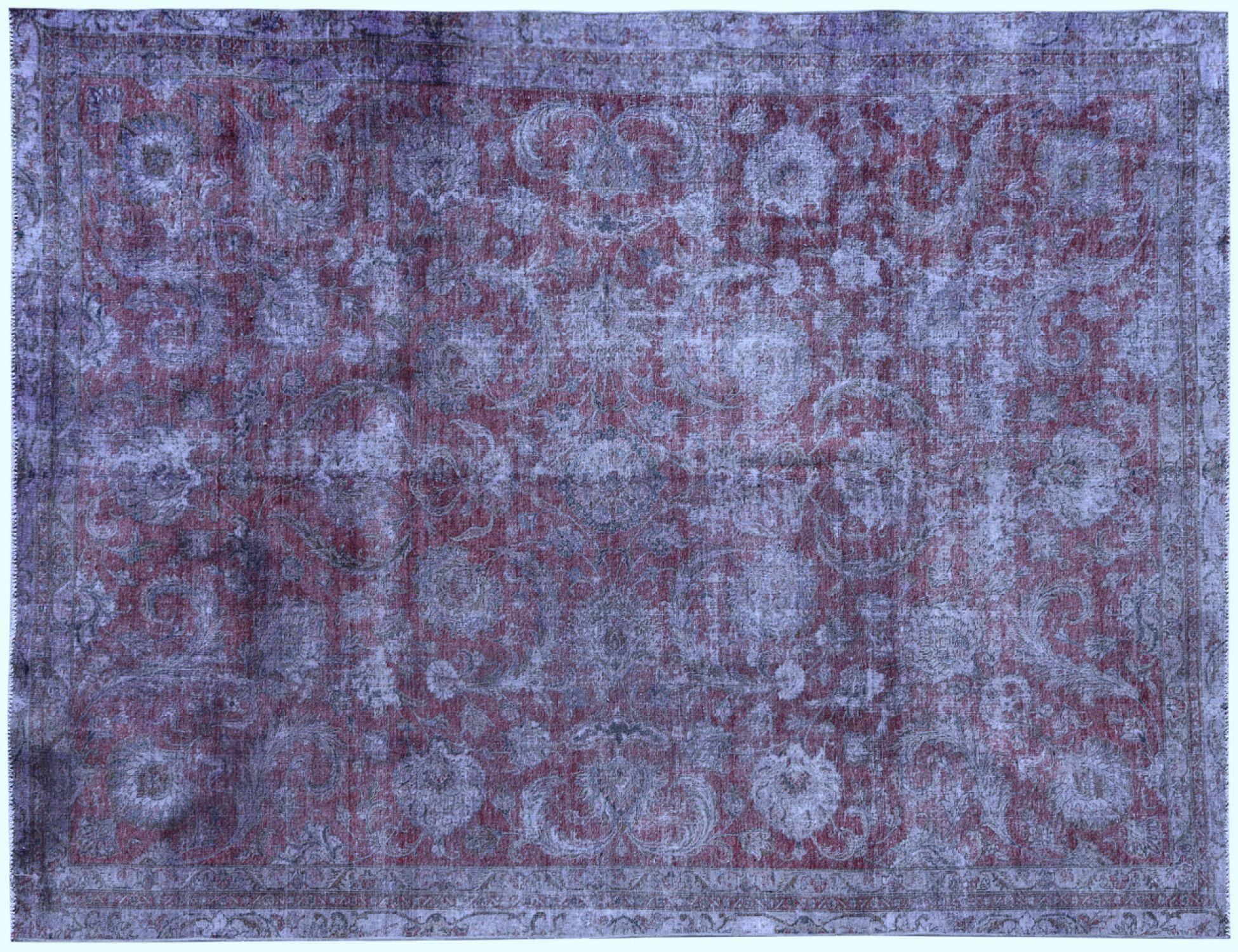 Vintage Teppich  lila <br/>383 x 274 cm