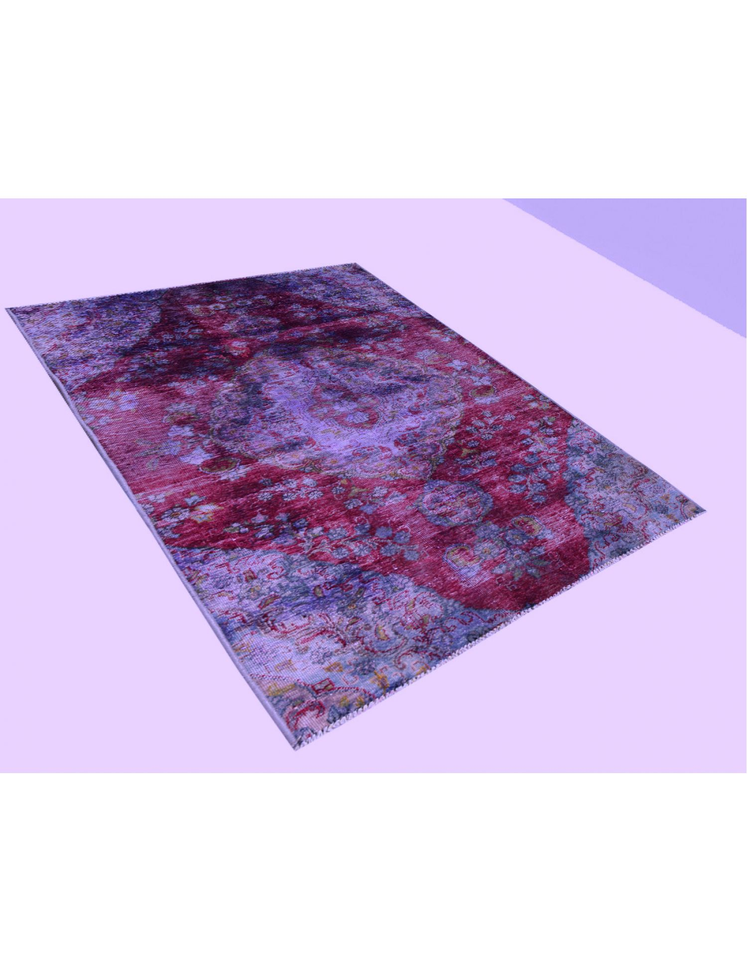 Vintage Carpet  purple <br/>220 x 122 cm