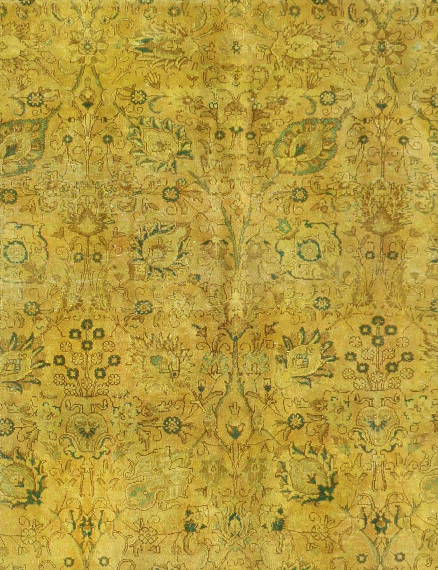 Tappeto Vintage  giallo <br/>330 x 290 cm